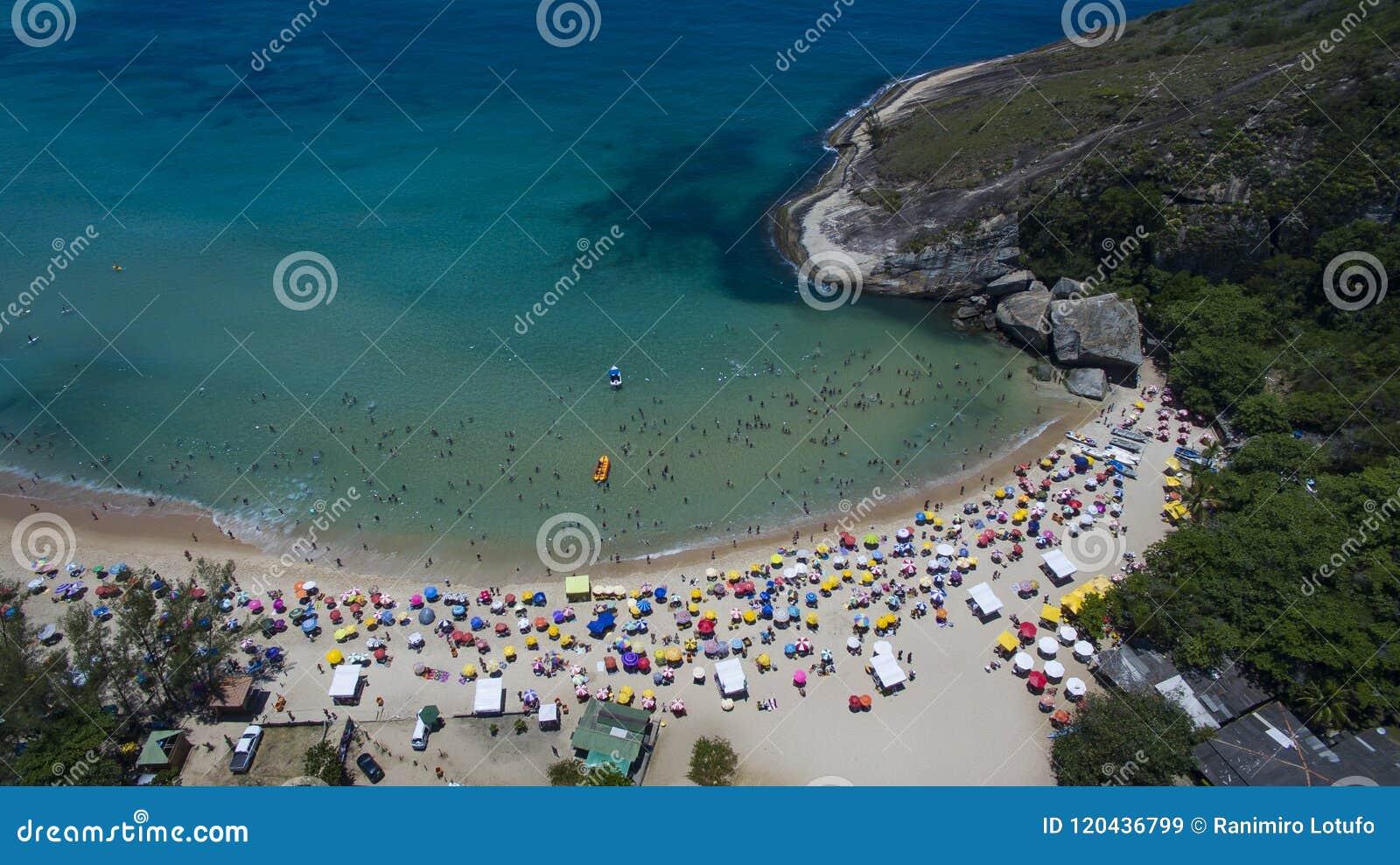 Raj plaża, piękna plaża, cudowne plaże dookoła świata, Grumari plaża, Rio De Janeiro, Brazylia, Ameryka Południowa Brazylia