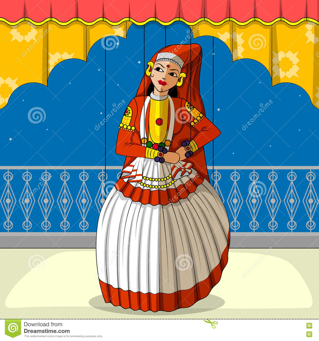 kathakali cartoons pictures illustrations - photo #34
