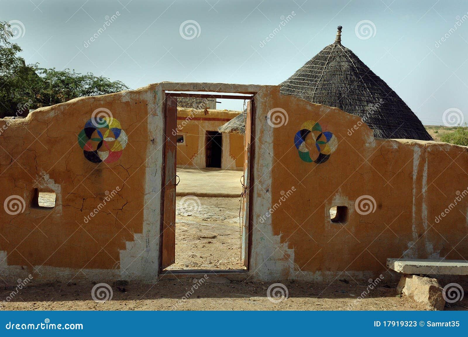 Rajasthani Village Of India Stock Image Image Of