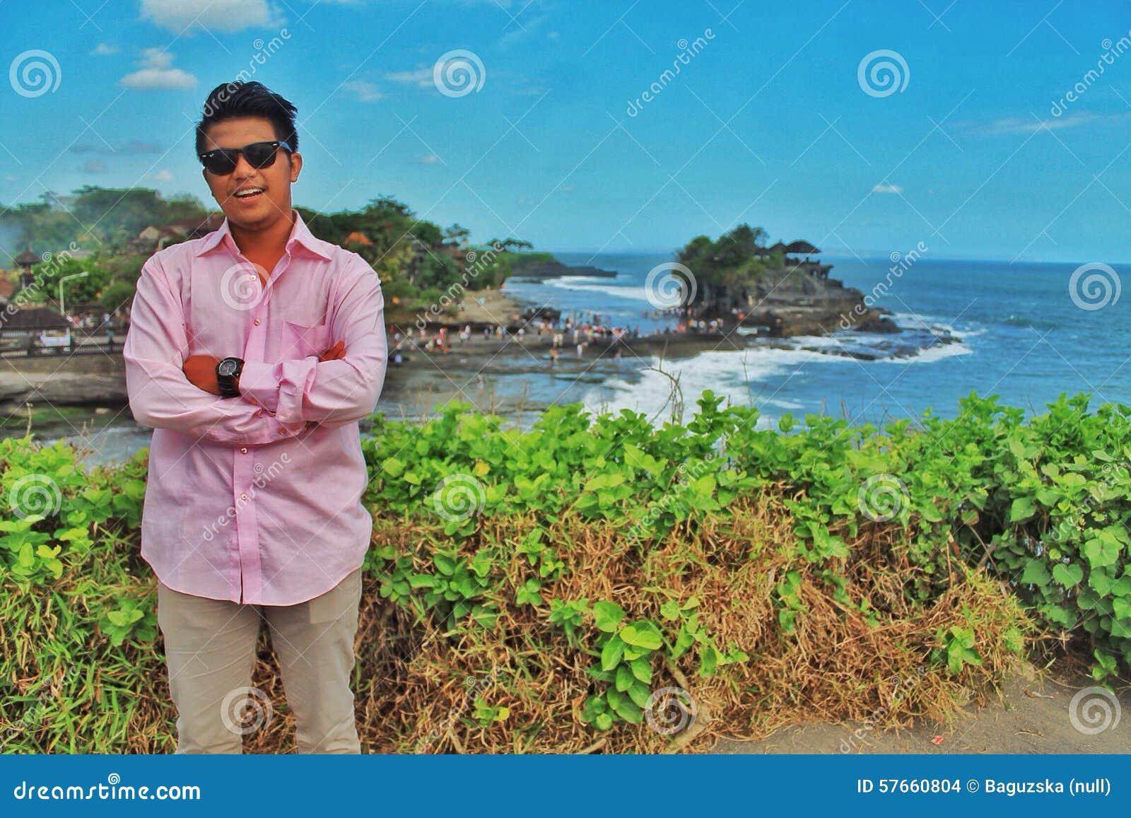 Raju Bali piękny plażowy morze