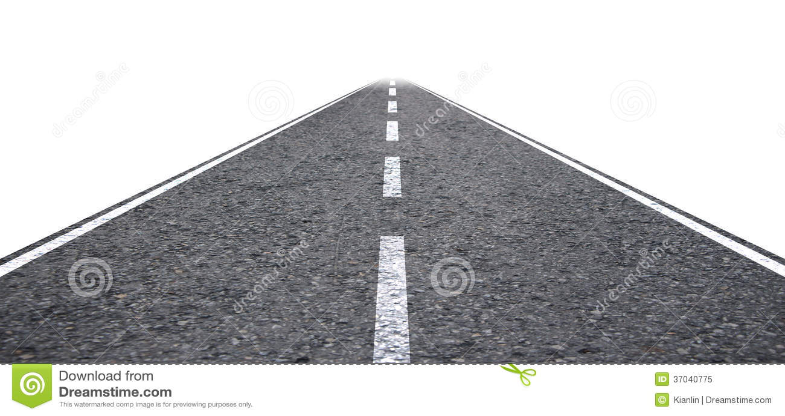 Rak väg