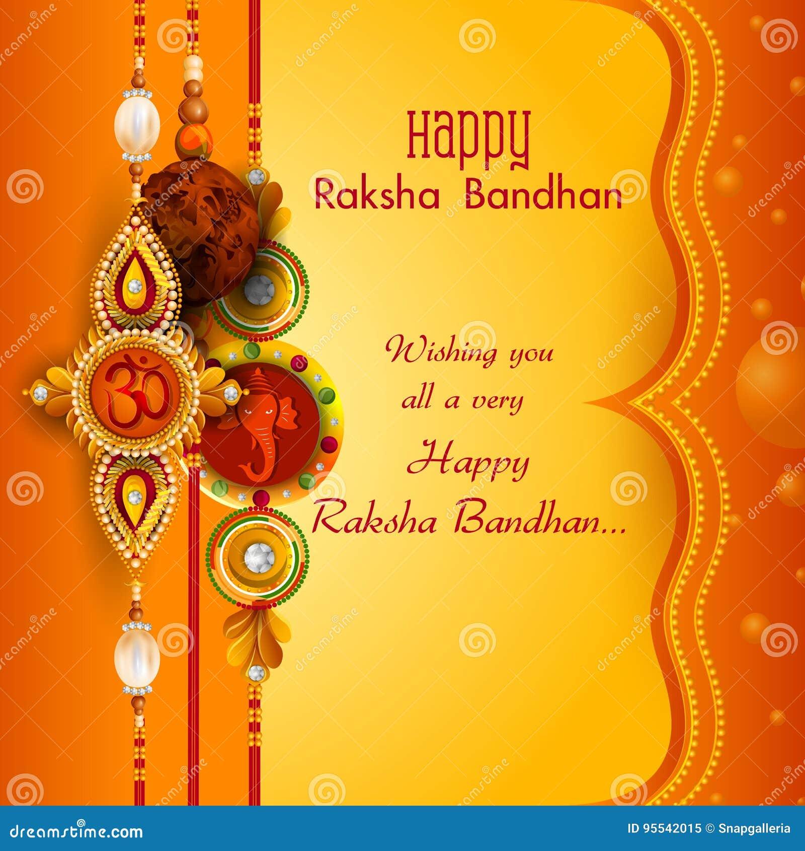Rakhi Festival Quotes Brother: Rakhi Background For Indian Festival Raksha Bandhan