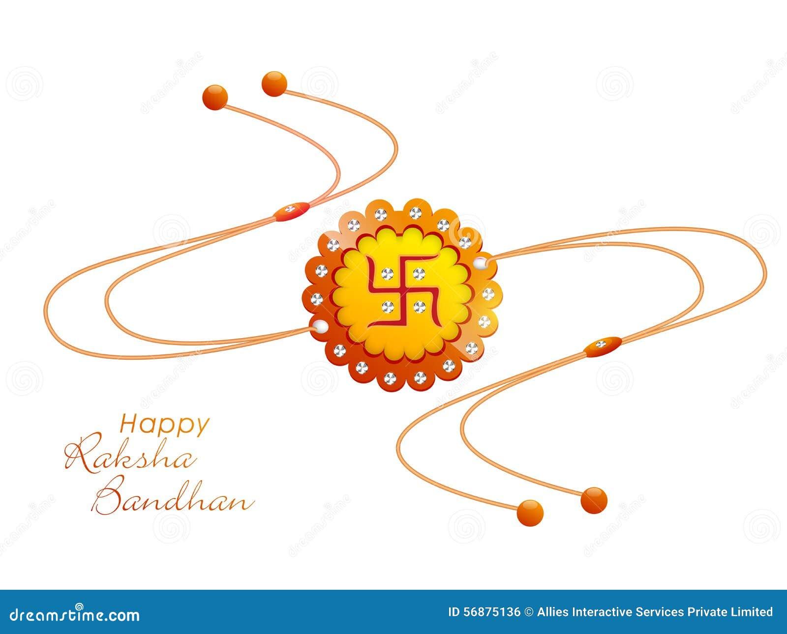 Rakhi creativo per la celebrazione di Raksha Bandhan