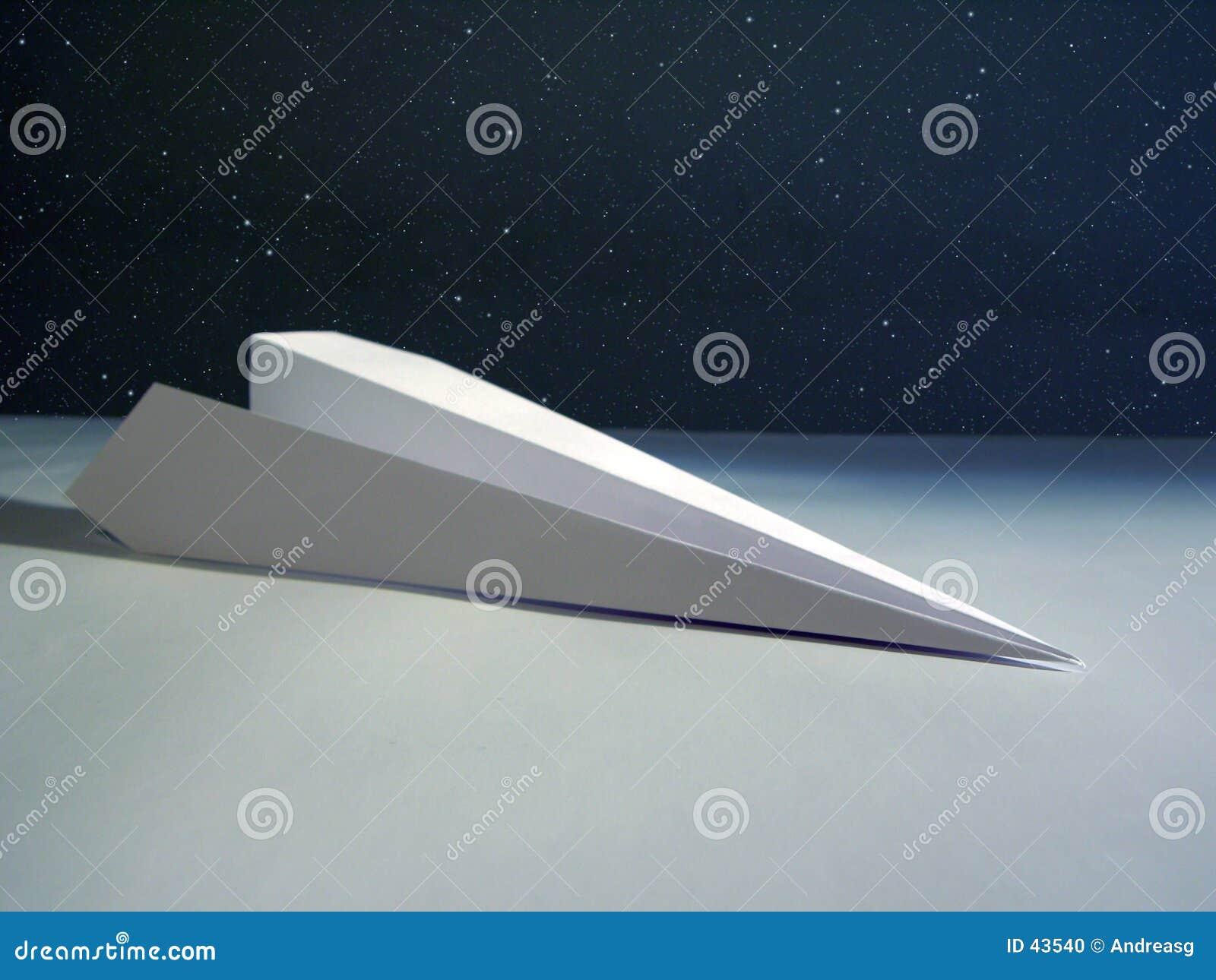 Rakieta papierowej