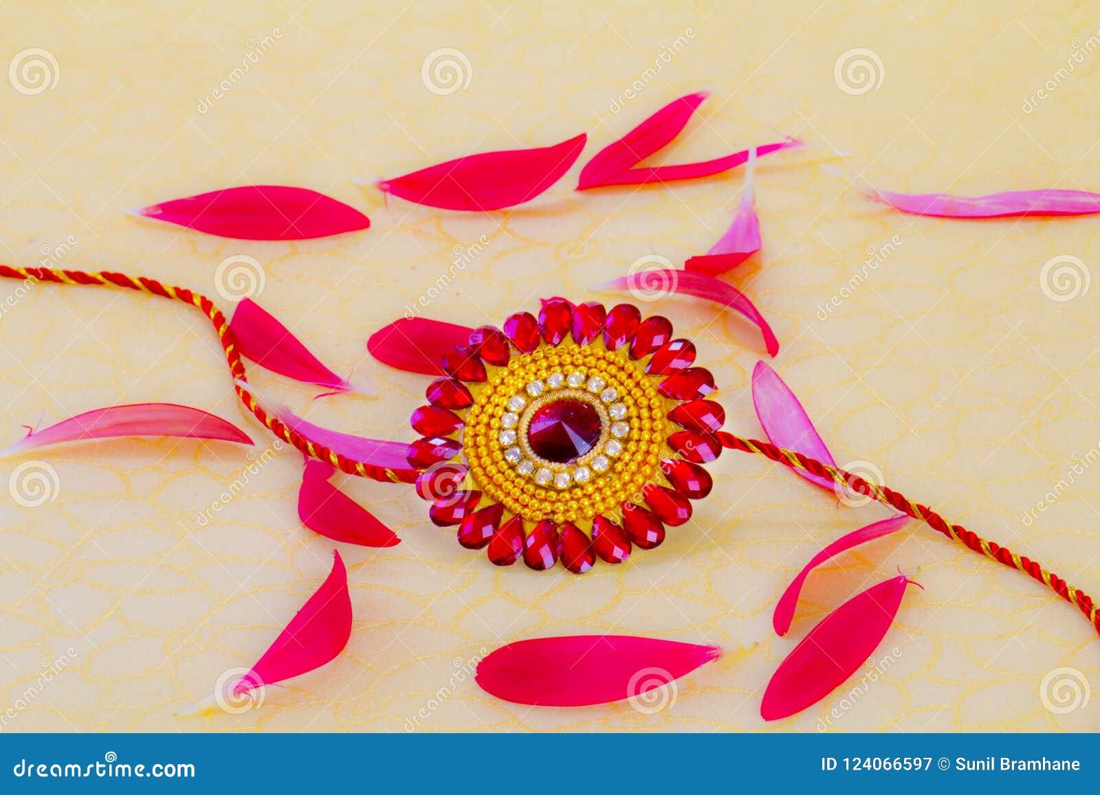 Raksha Bandhan rakhi stock image  Image of color, kumkum