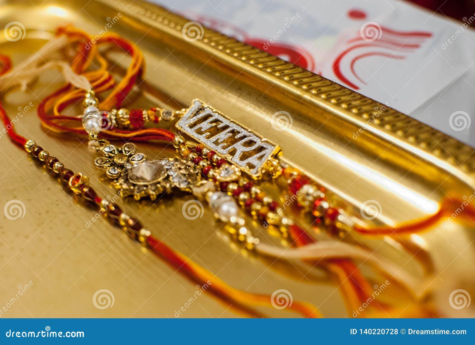 Rakshabandan Raakhi met Veera-ornament