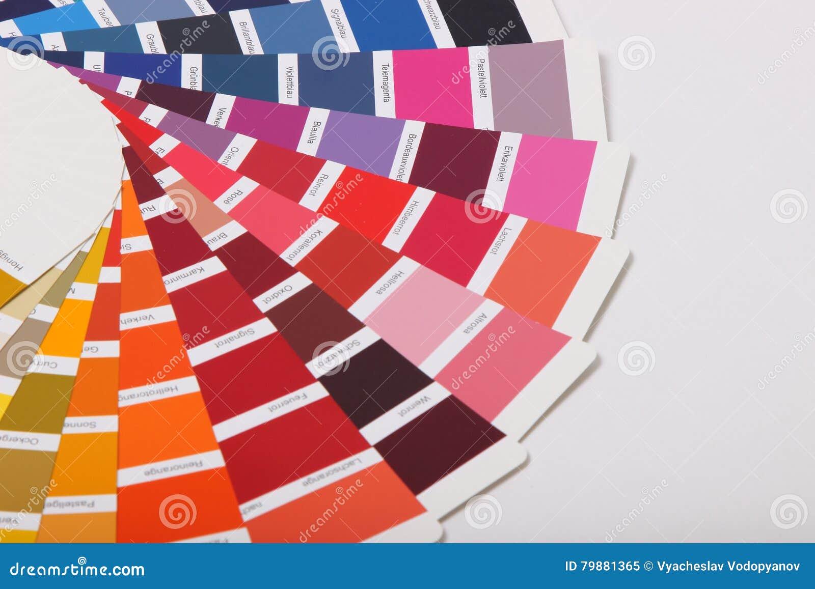 Ral Farben Auf Weissem Hintergrund Stockbild Bild Von Ansammlung