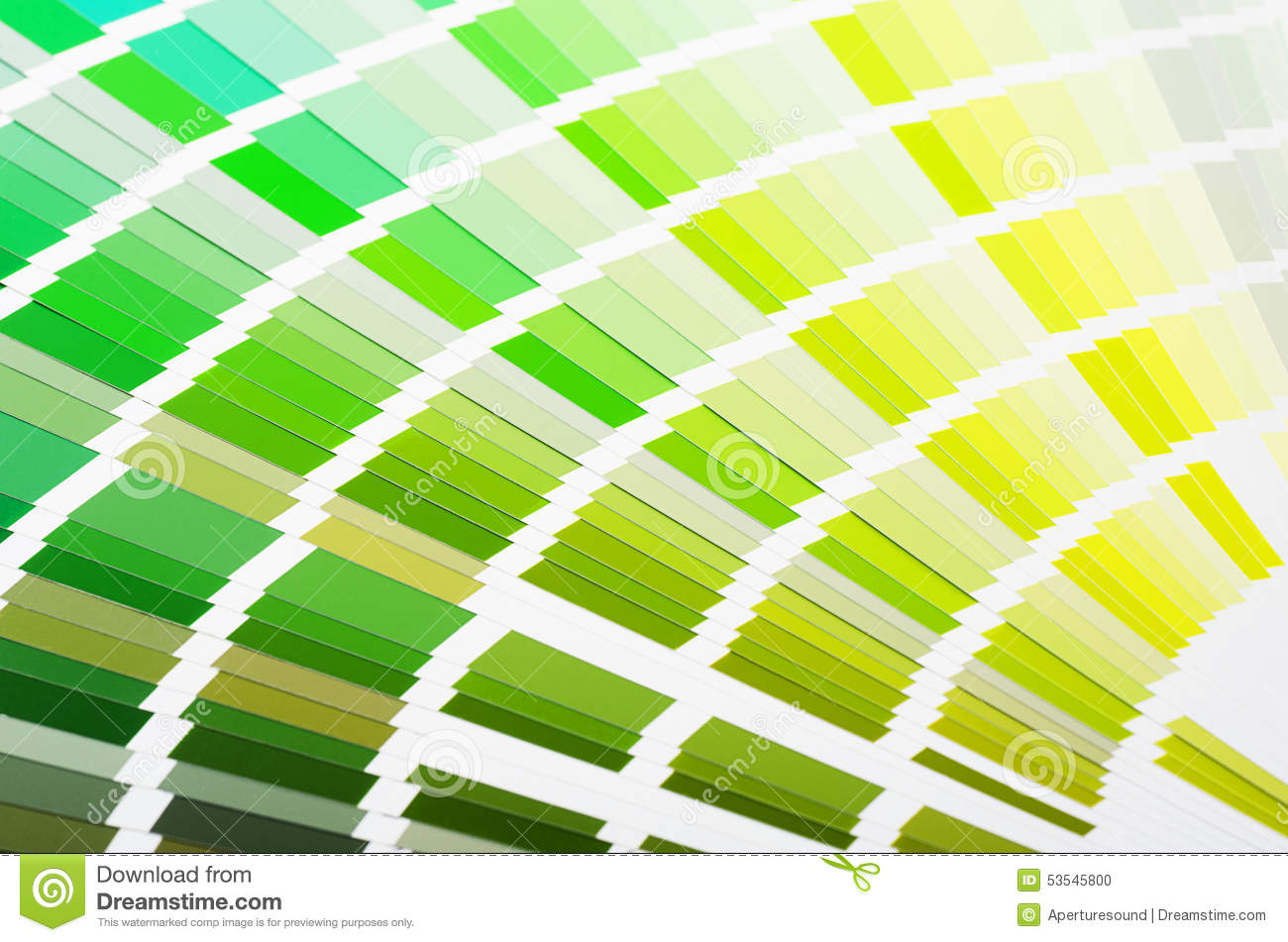 RAL Sample Colors Catalogue Stock Photo - Image of gamma, background ...