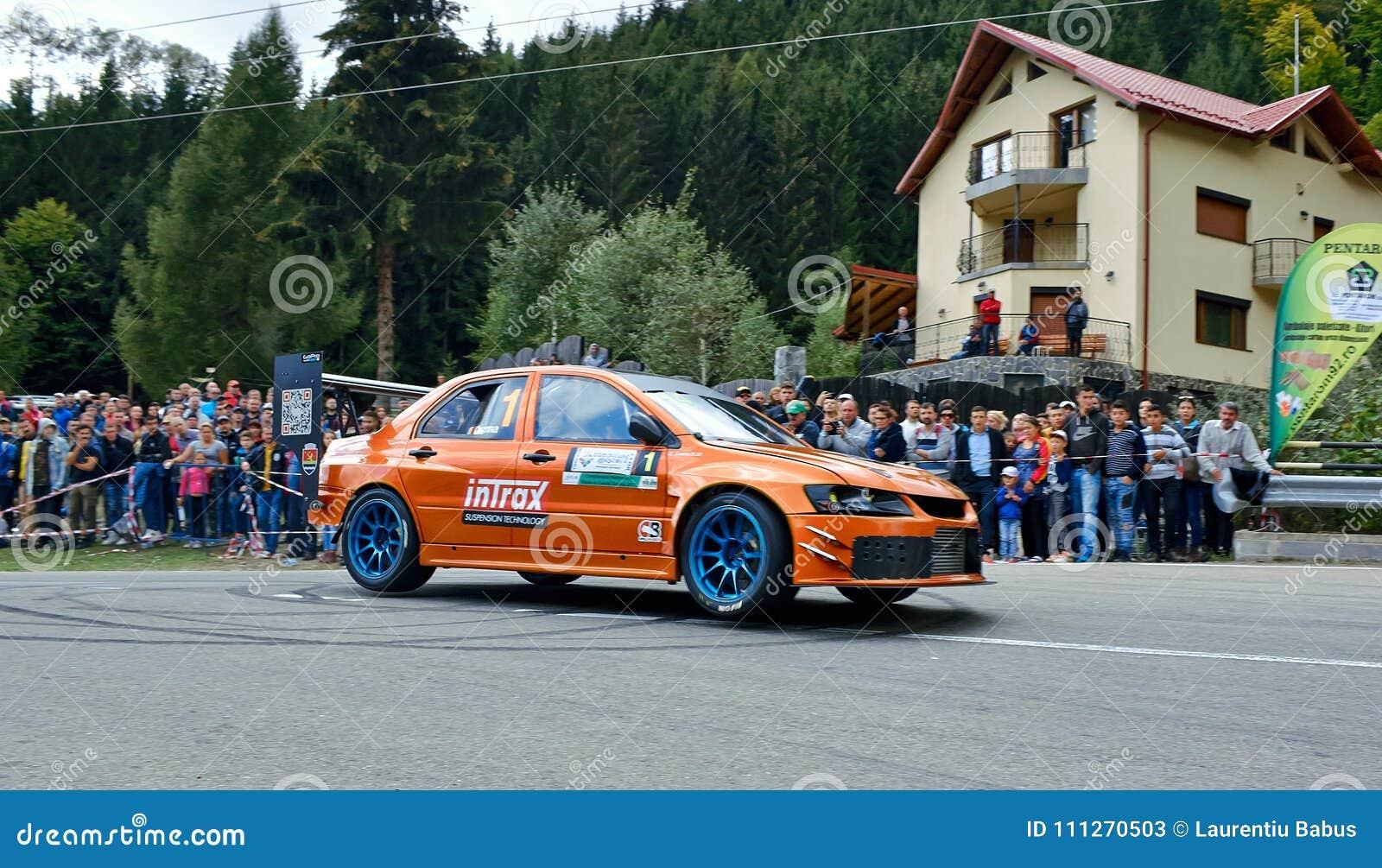 Mitsubishi Lancer Evo Ix Tuning Rally Car Editorial Stock Photo