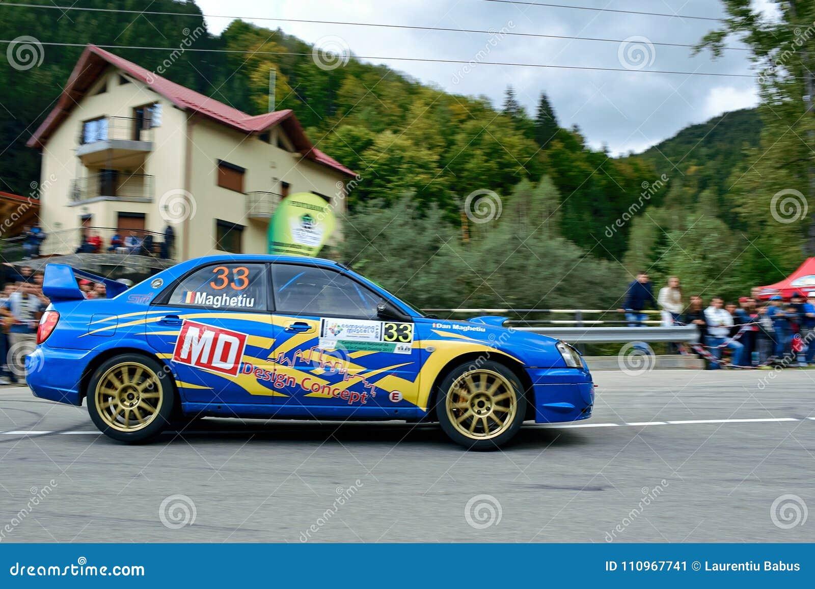 Subaru Impreza WRX STI Tuning Rally Car Editorial Photo - Image of ...