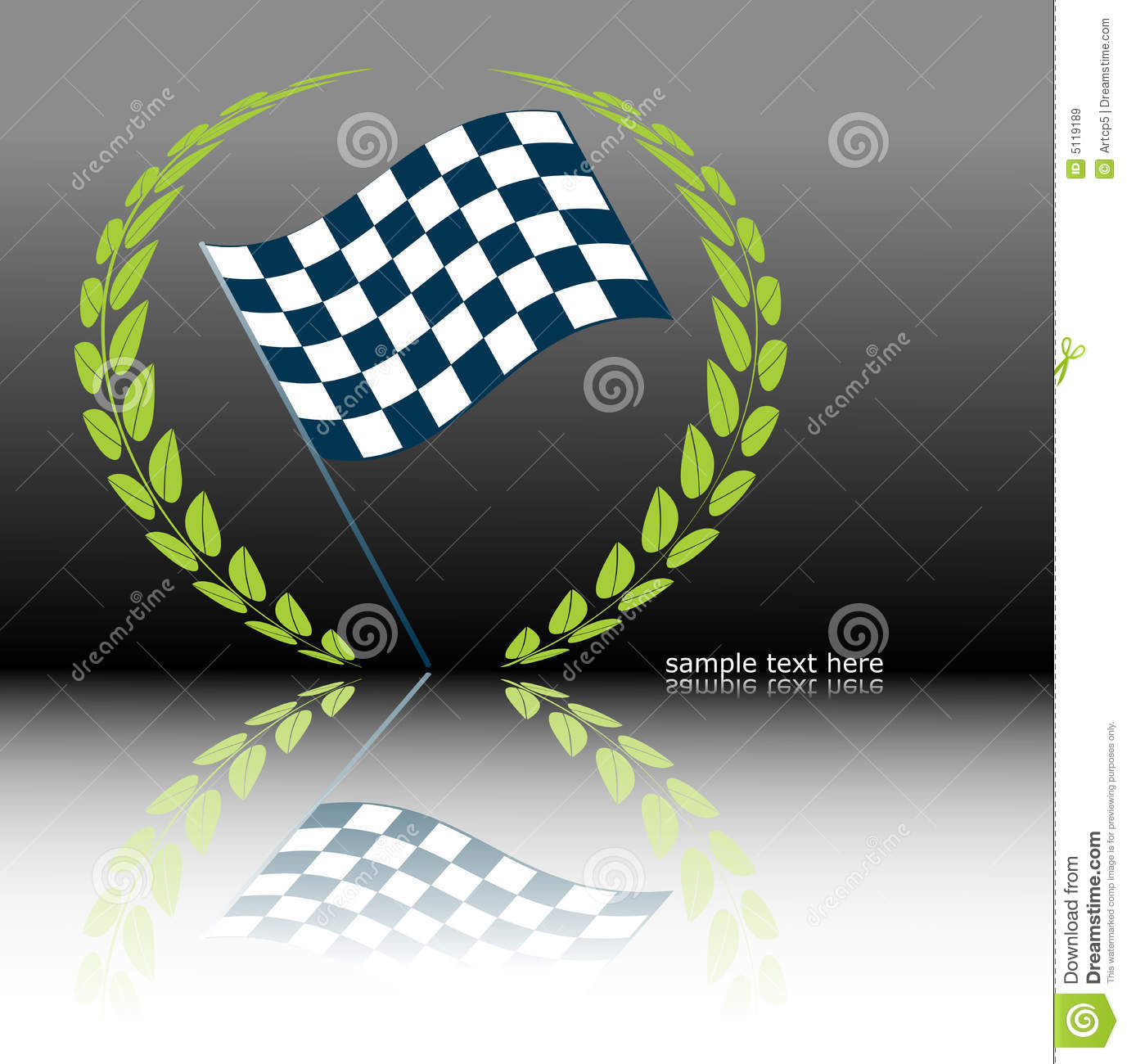 Rally Flag Royalty Free Stock Images Image 5119189
