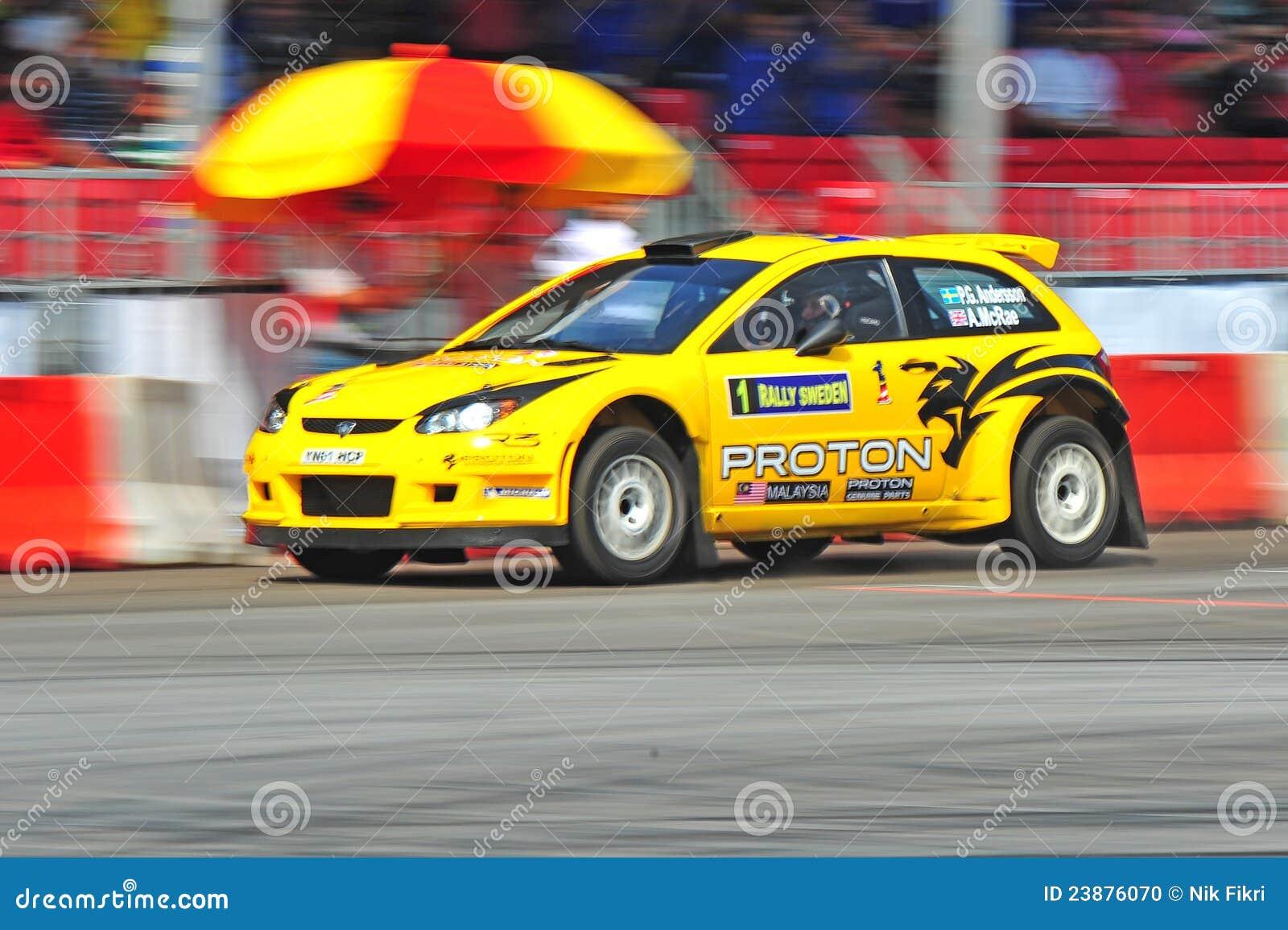 Rallye Car Proton R3