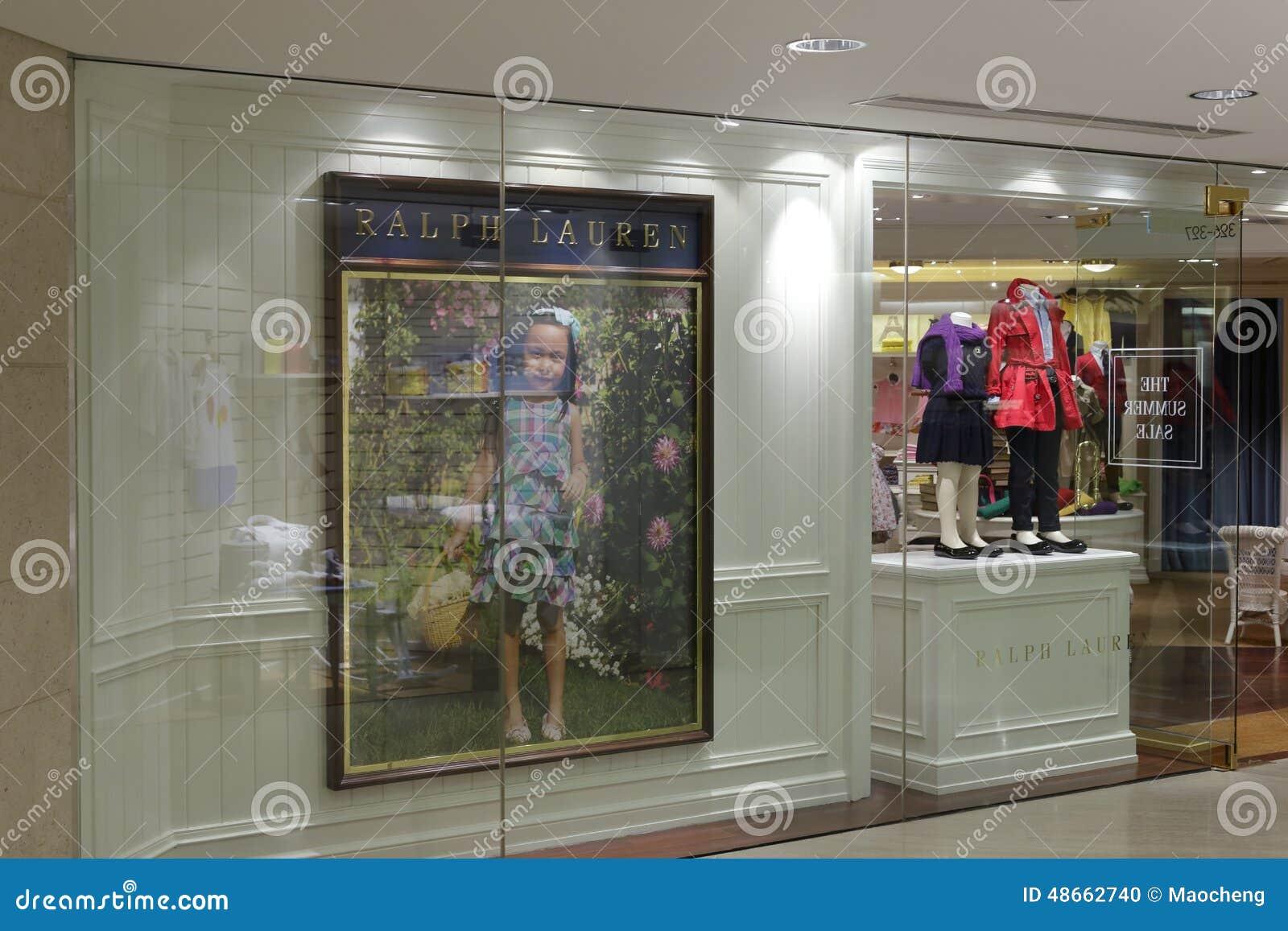 b6b01df78 Ralph Lauren Children s Clothing Store Editorial Image - Image of ...