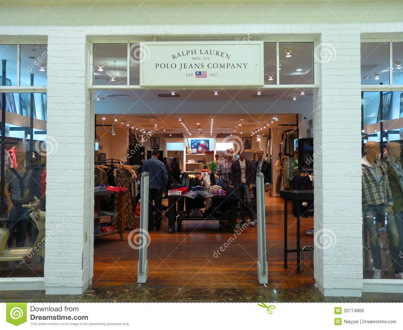 Ralph Lauren Corporation is a global leader the design, marketing, and distribution of premium lifestyle products and other licenses product categories. The company began with men's ties, although it is the cotton mesh Polo shirt, introduced five years later by Mr. Location: International Dr Suite 1E01, Orlando, , FL.