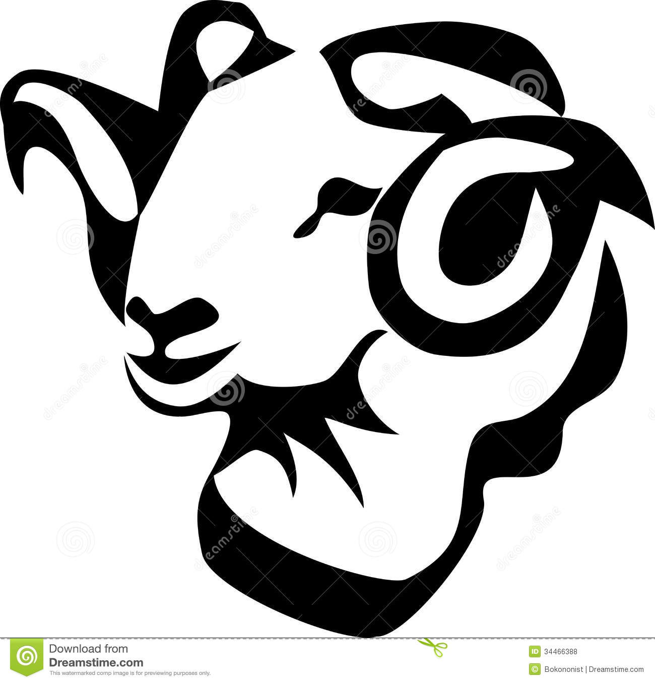 Ram royalty free stock photos image 34466388 for Black and white only