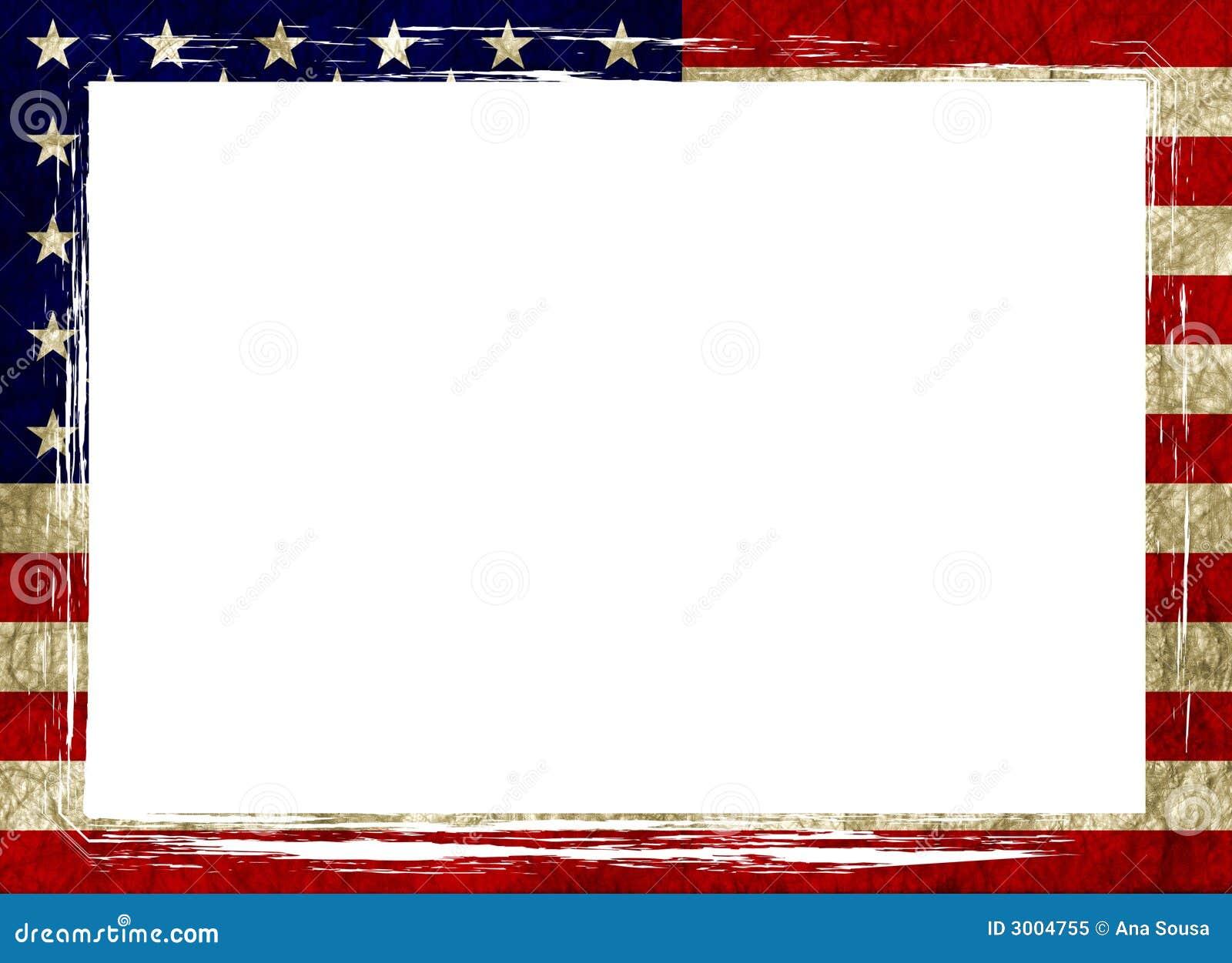 Rama amerykańskiej flagi