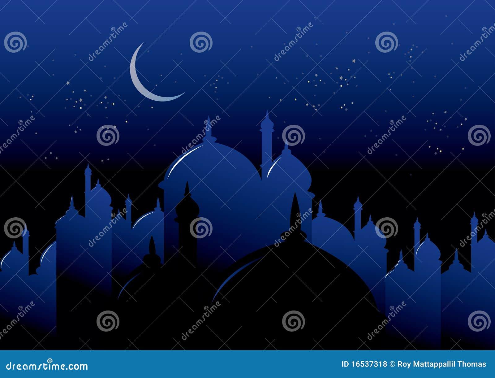 Ramadan的晚上
