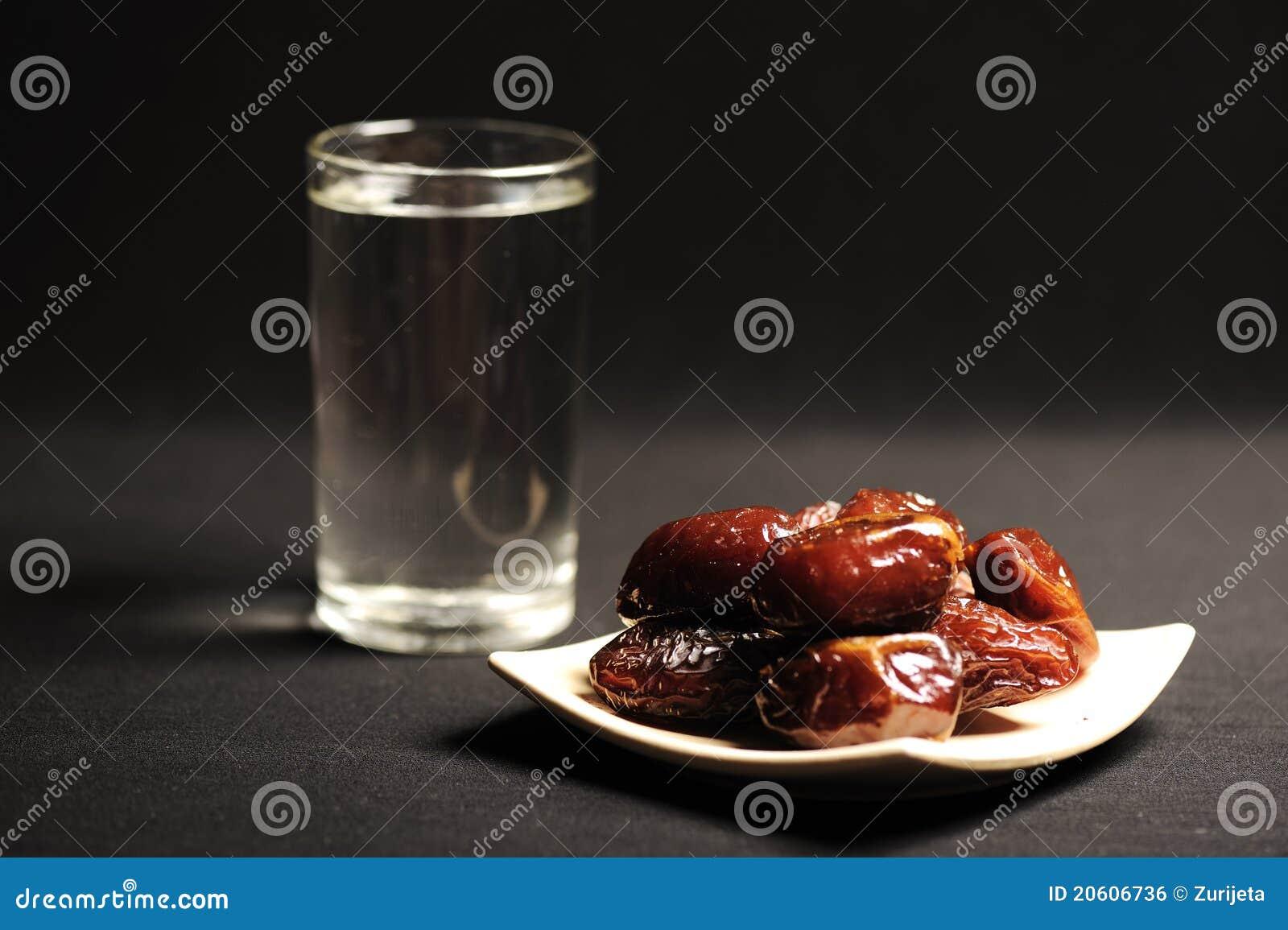 Ramadan is comming: water