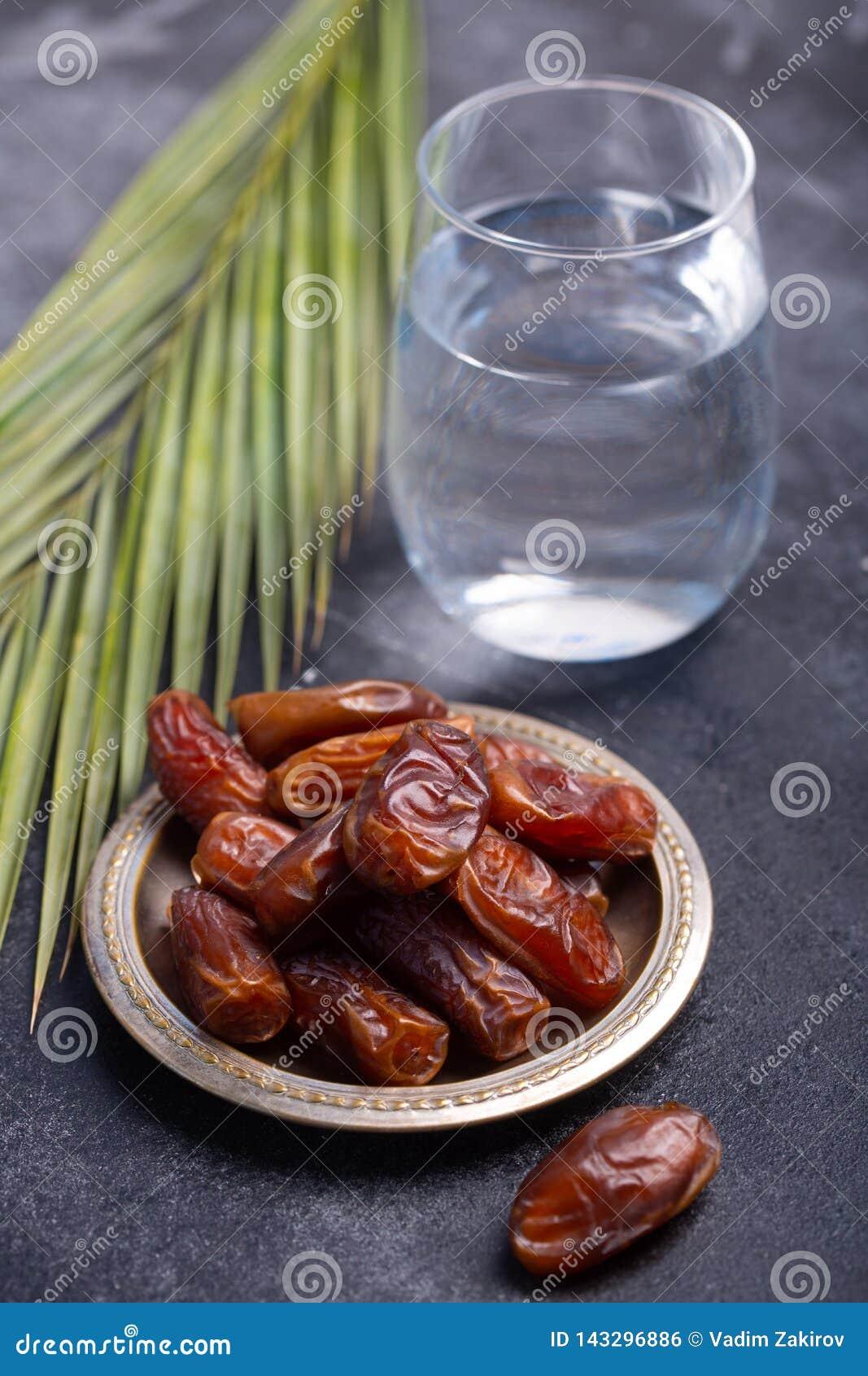 Ramadan Dates Is Traditional Food For Iftar In Islamic World