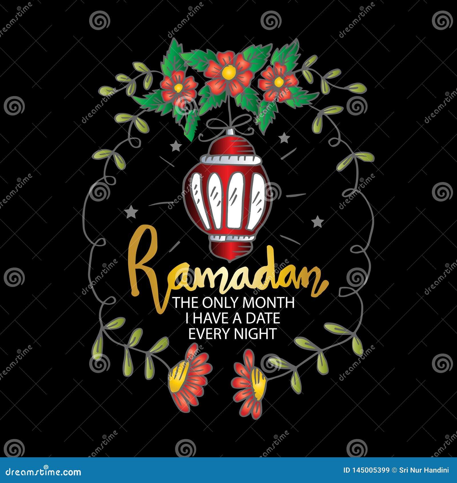 Ramadan den enda m?naden har jag ett datum varje natt