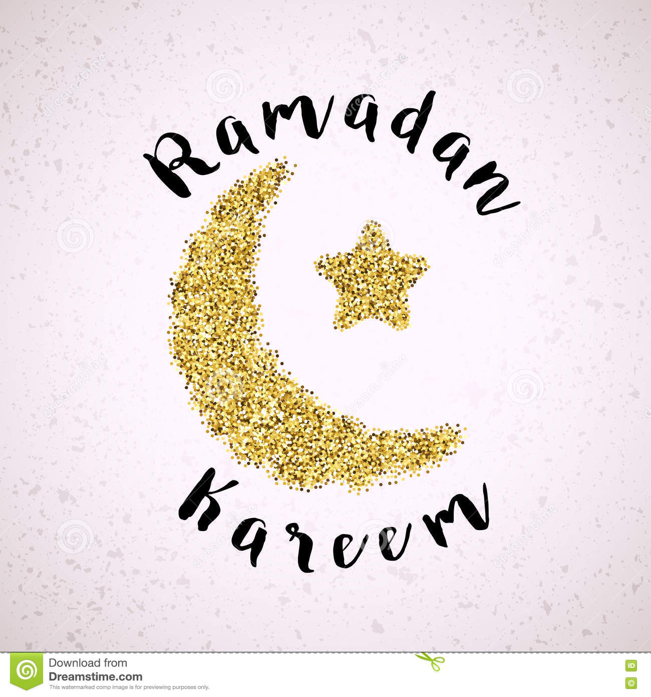 Ramadan greeting background of gold crescent moon and star stock ramadan greeting background of gold crescent moon and star biocorpaavc Gallery