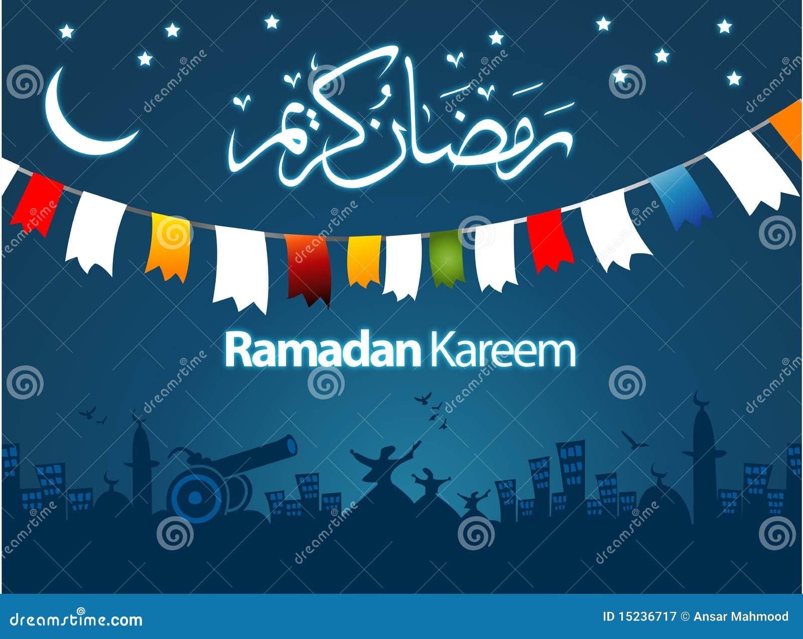 Ramadan greeting card illustration stock illustration illustration download ramadan greeting card illustration stock illustration illustration of middle elegant 15236717 m4hsunfo