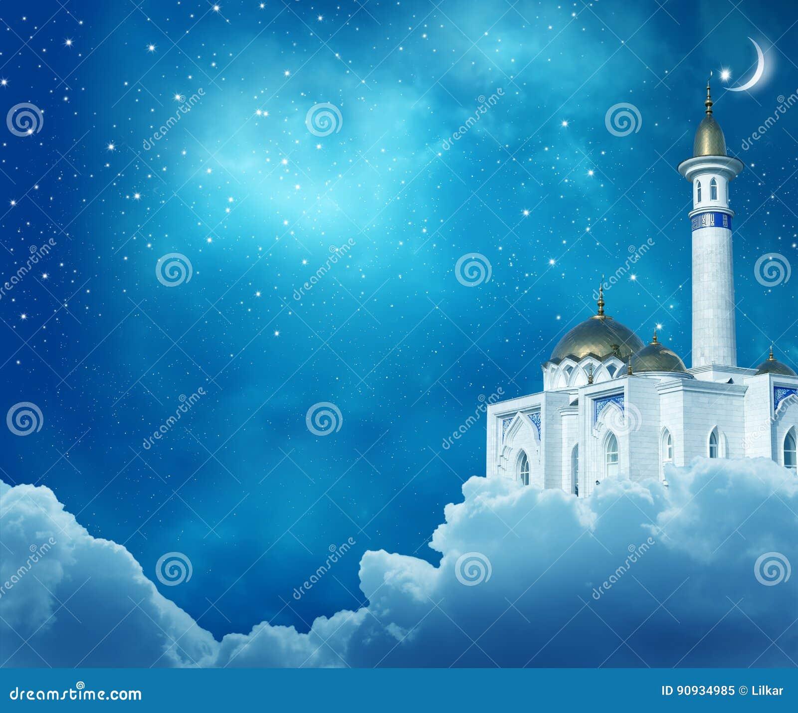 Mosque background for ramadan kareem stock photography image - Ramadan Kareem Background Stock Photo