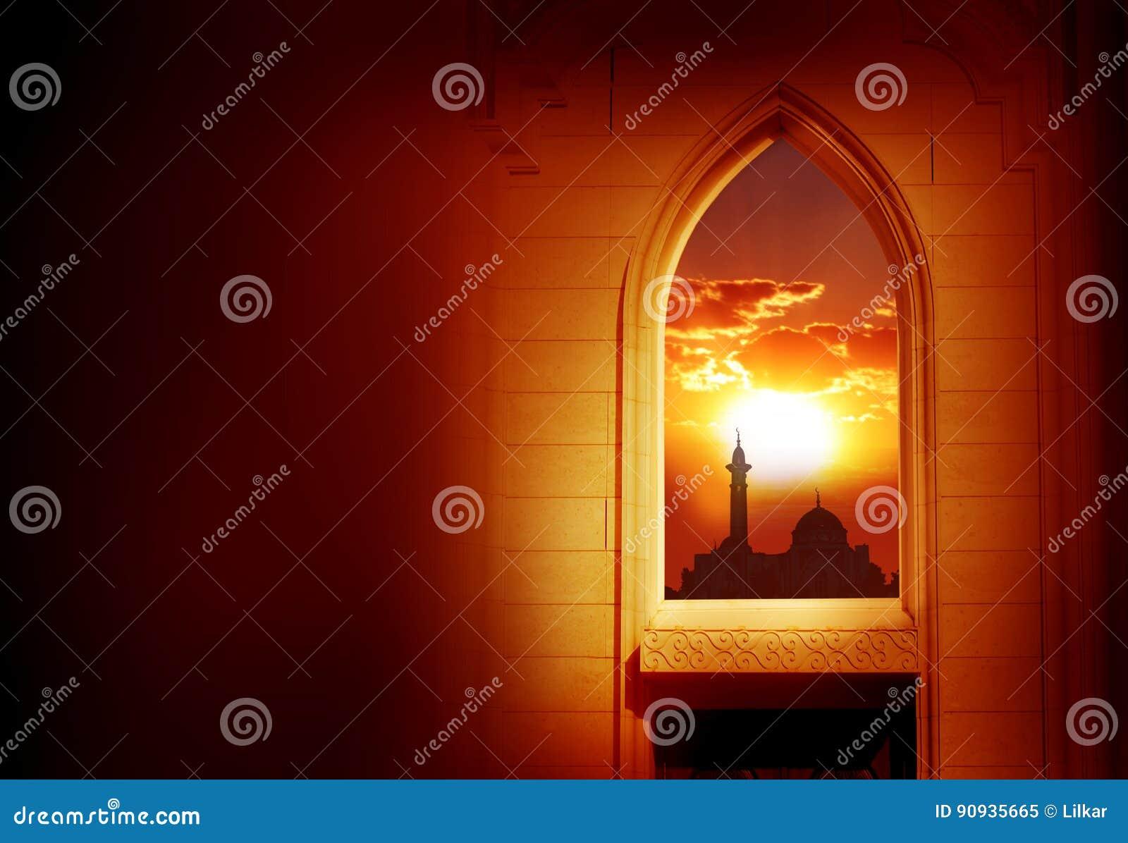 Mosque background for ramadan kareem stock photography image - Royalty Free Stock Photo Background Kareem Ramadan