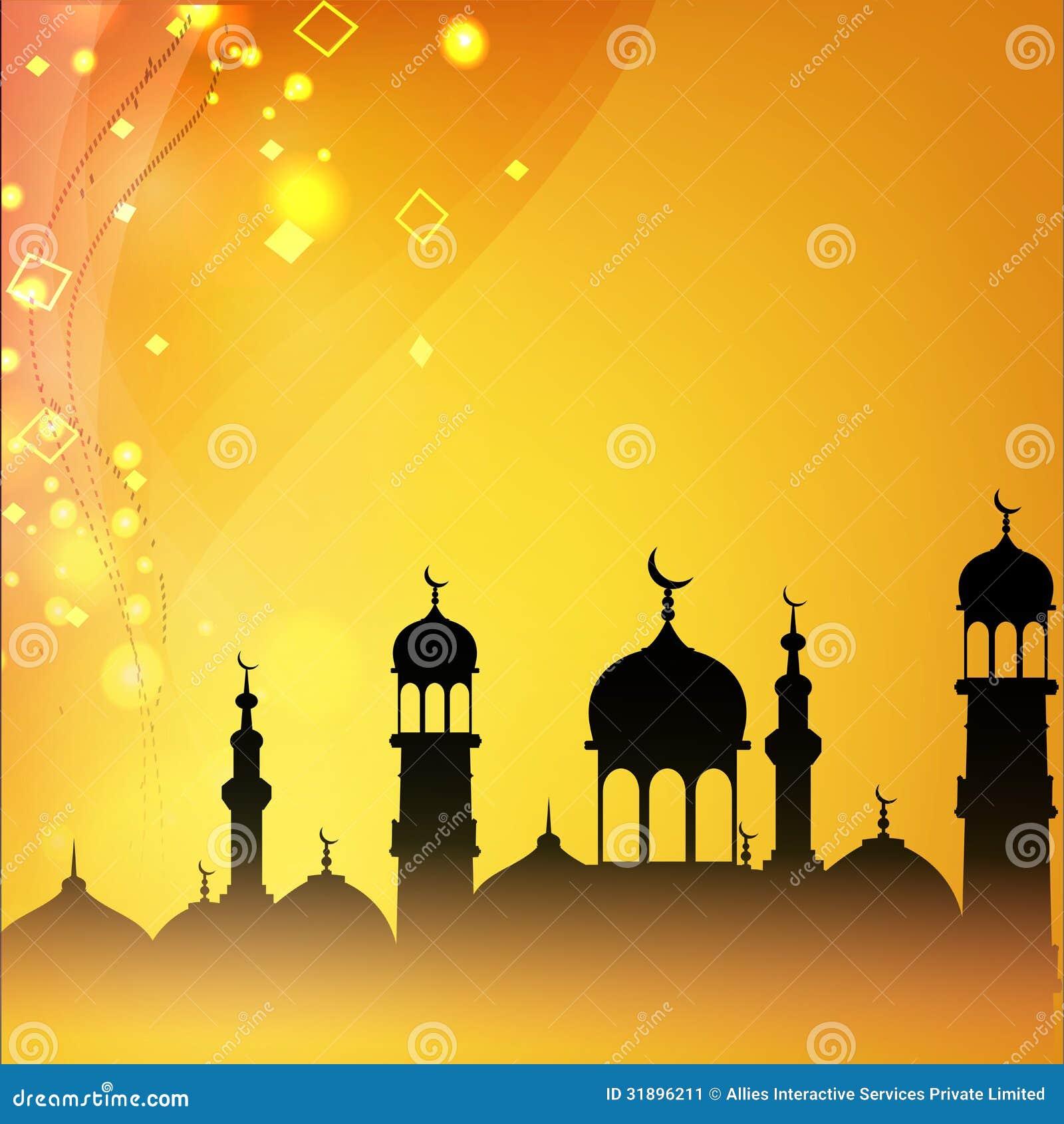 Mosque background for ramadan kareem stock photography image - Ramadan Kareem Background Stock Image