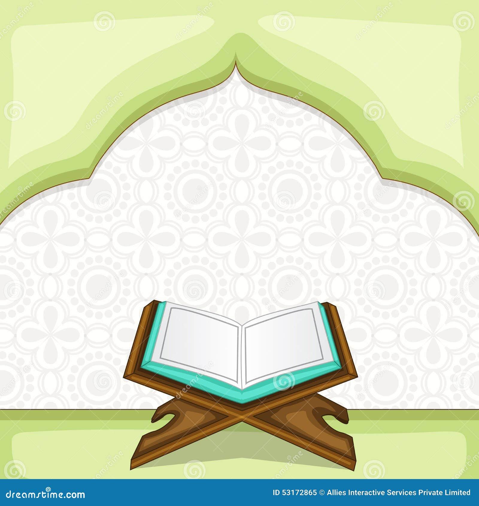 Holy book islam