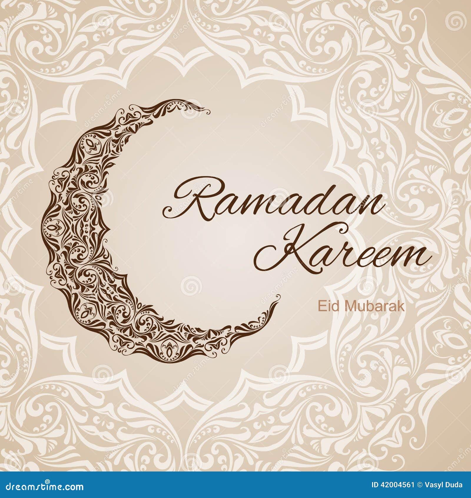 Ramadan kareem greeting card stock illustration illustration of ramadan kareem greeting card m4hsunfo Image collections