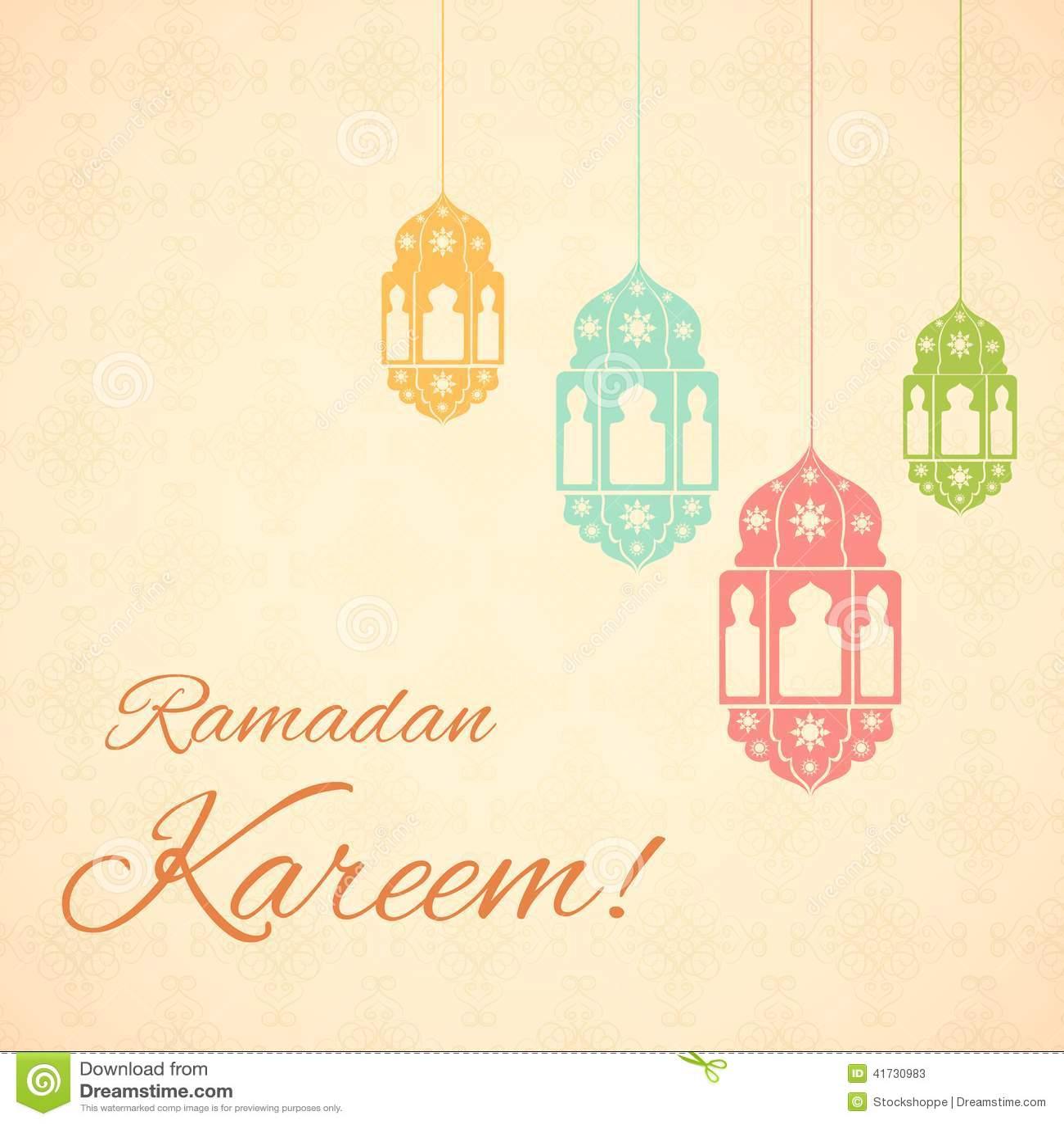 Ramadan kareem greetings for ramadan background stock vector ramadan kareem greetings for ramadan background m4hsunfo