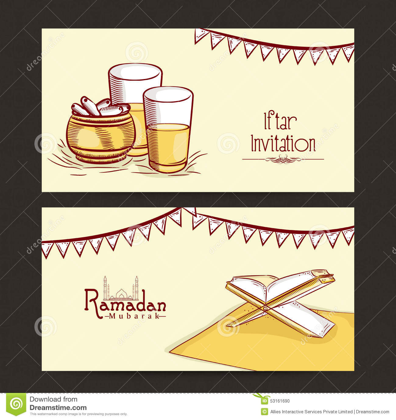 Iftar Banners Template Youtube Banners