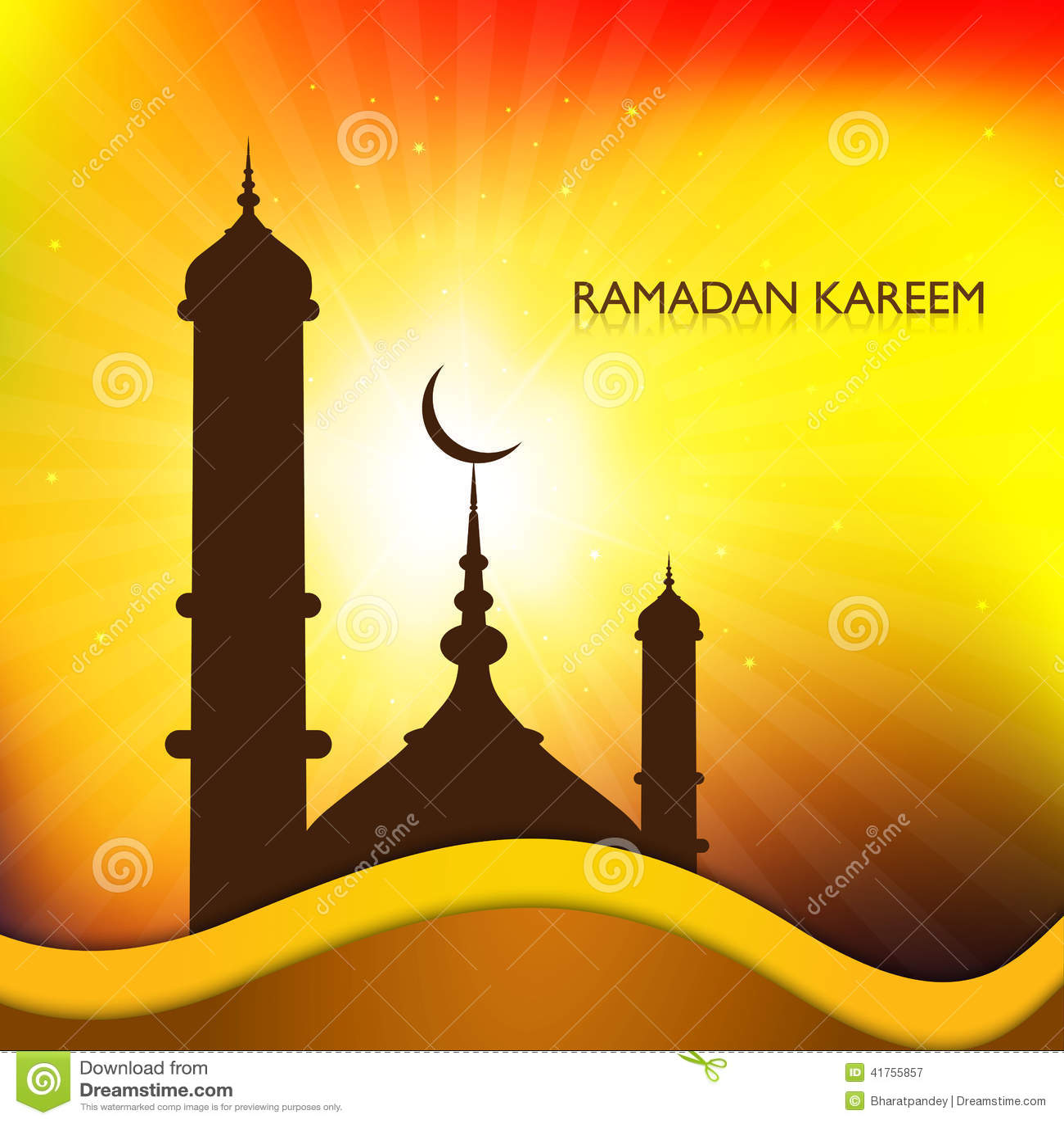 Mosque background for ramadan kareem stock photography image - Ramadan Kareem Mosque Card For Religious Royalty Free Stock Photography