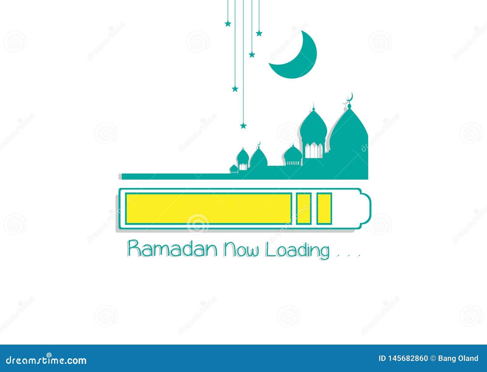 Ramadan Kareem Now p?fyllning islamisk designmosk?kupol