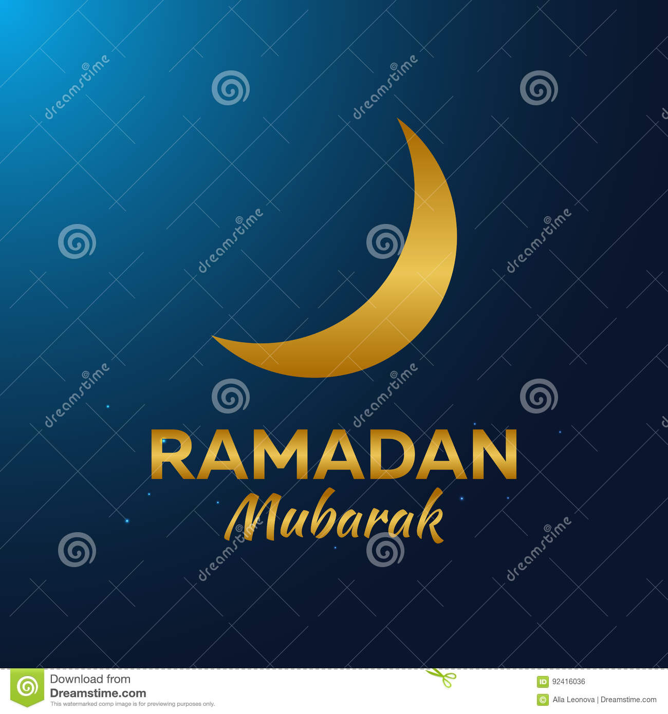 Ramadan Kareem Ramadan Mubarak Greeting Card Arabian Night With