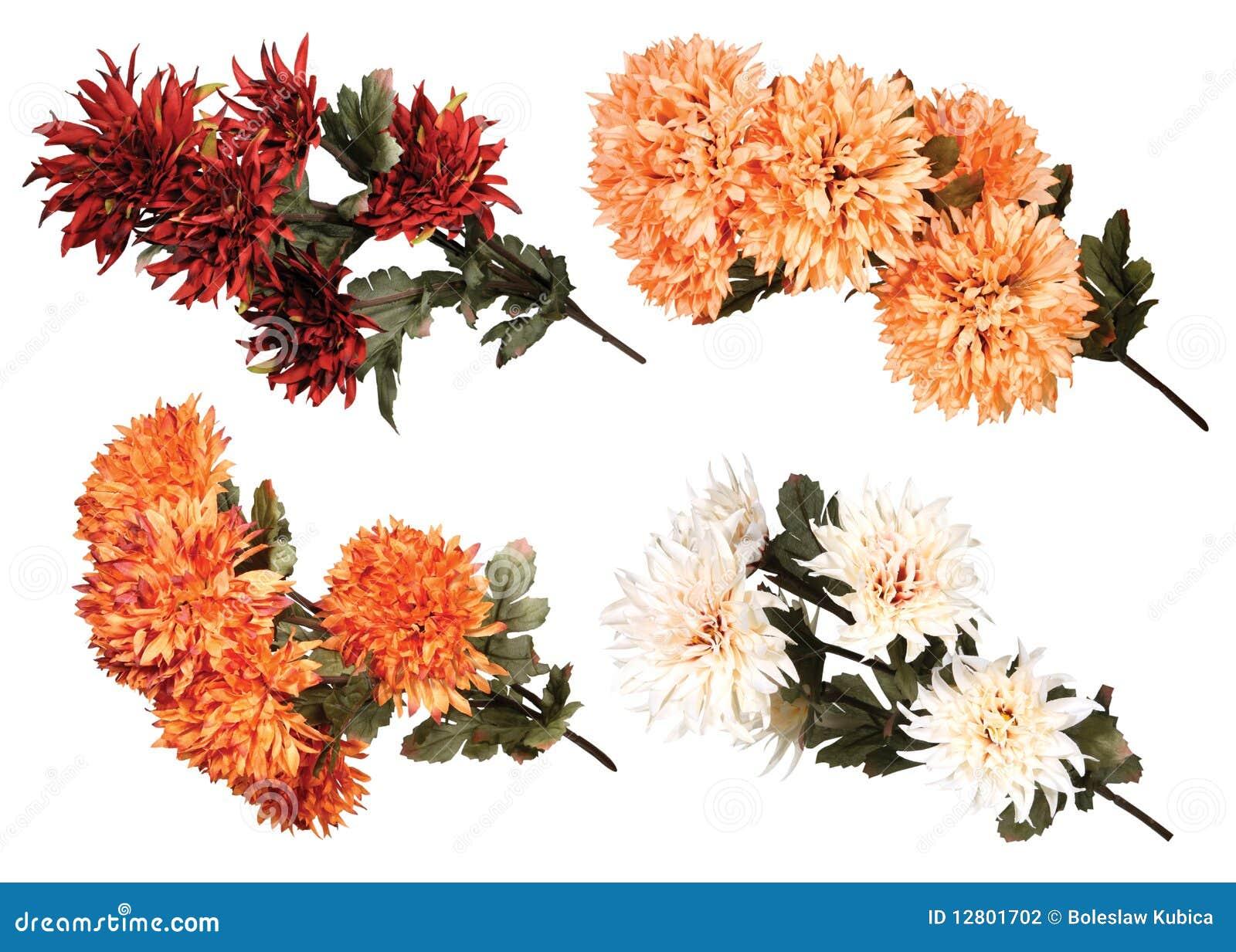 Ramalhete de flores artificiais