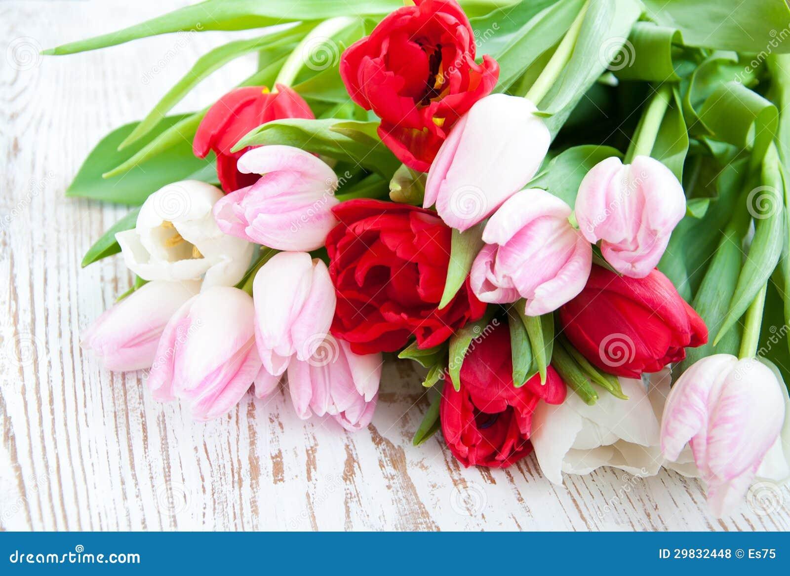 Ramalhete das tulipas
