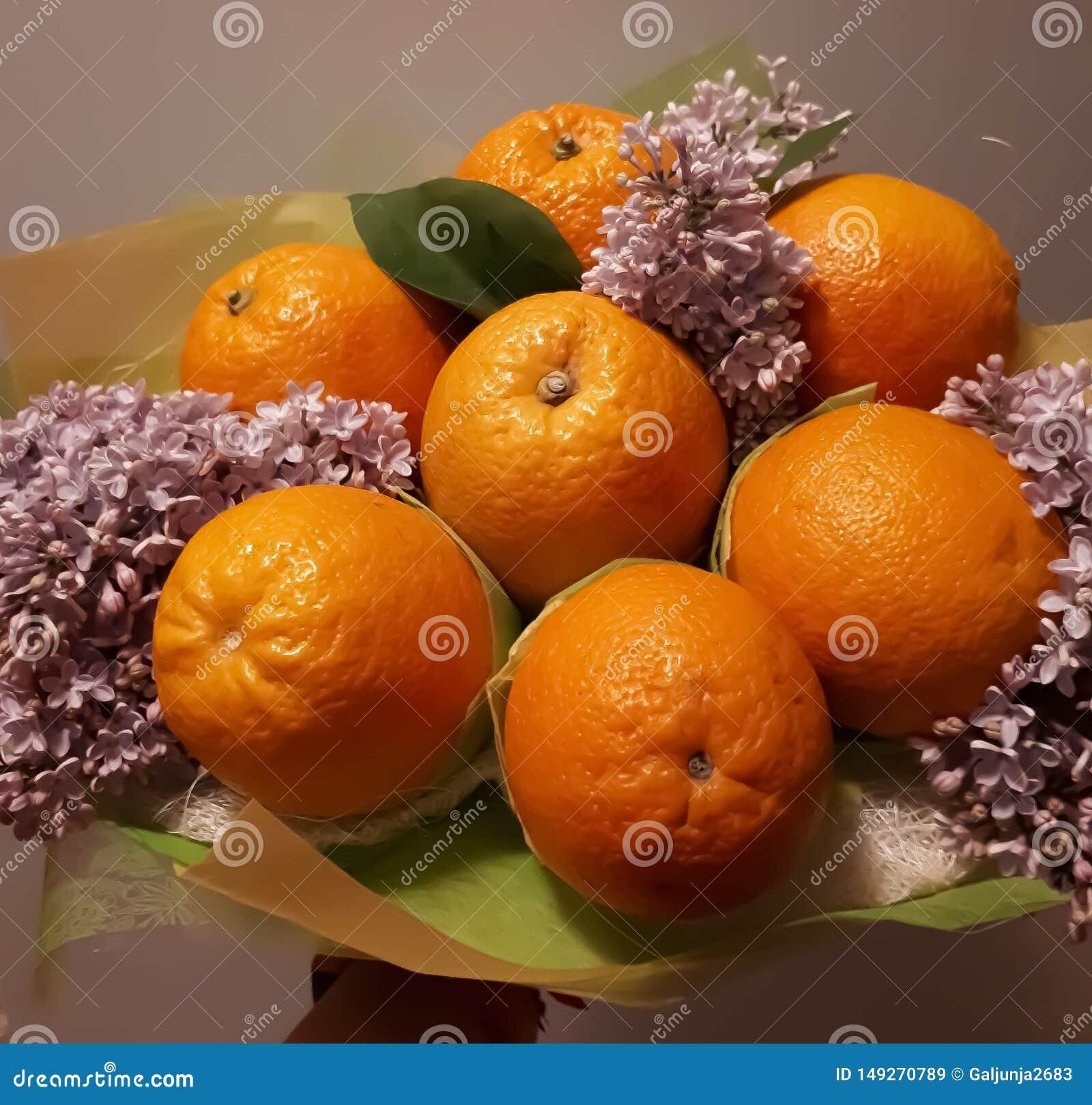 Ramalhete, fruto, flores, bonito, brilhante, coloridas