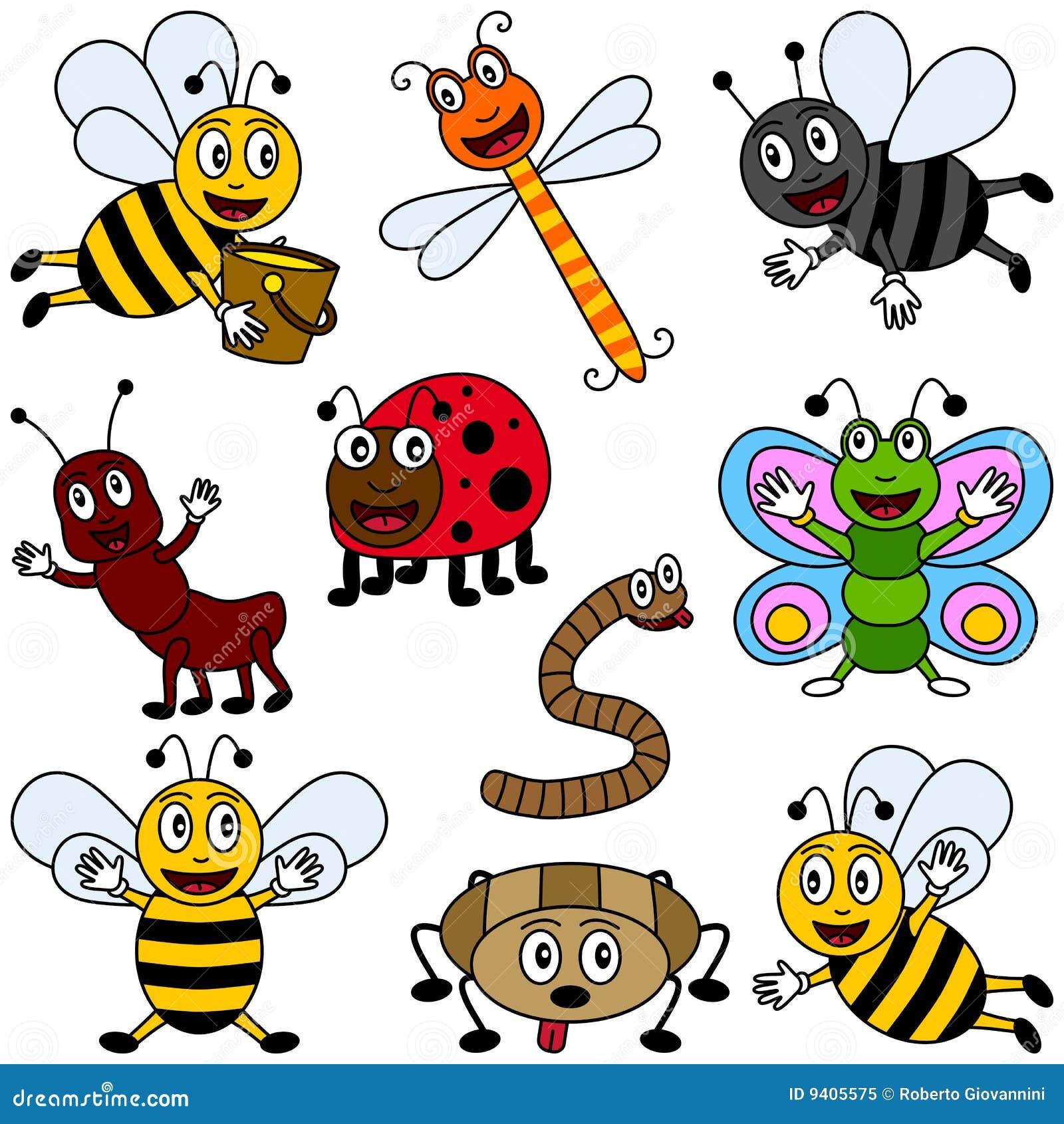 Humor Inspirational Quotes: Ramassage D'insectes De Dessin Animé Photo Libre De Droits