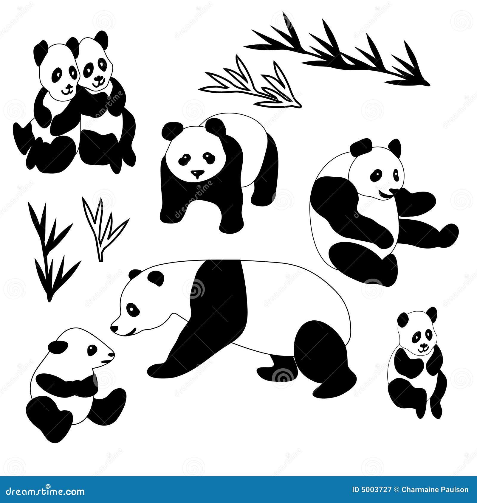 Ramassage de panda g ant photographie stock libre de droits image 5003727 - Coloriage a imprimer de panda geant ...