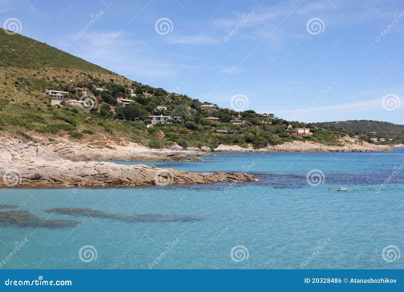 Download Ramatuelle, Bonne Terrase On The French Riviera Stock Photo - Image of garden, monaco: 20328486