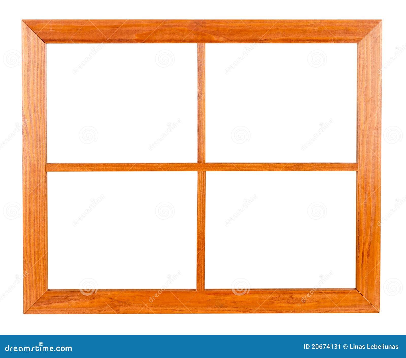 Rambostadsvitt fönster