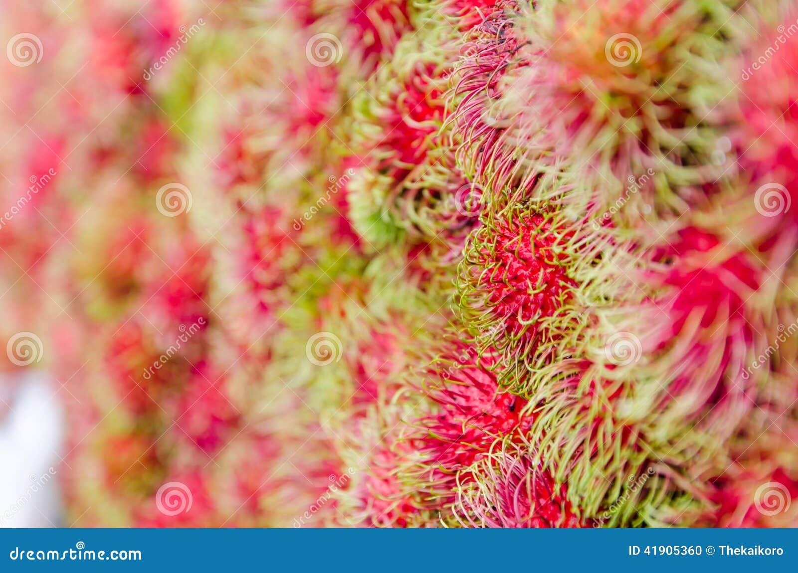 Rambutan fresco