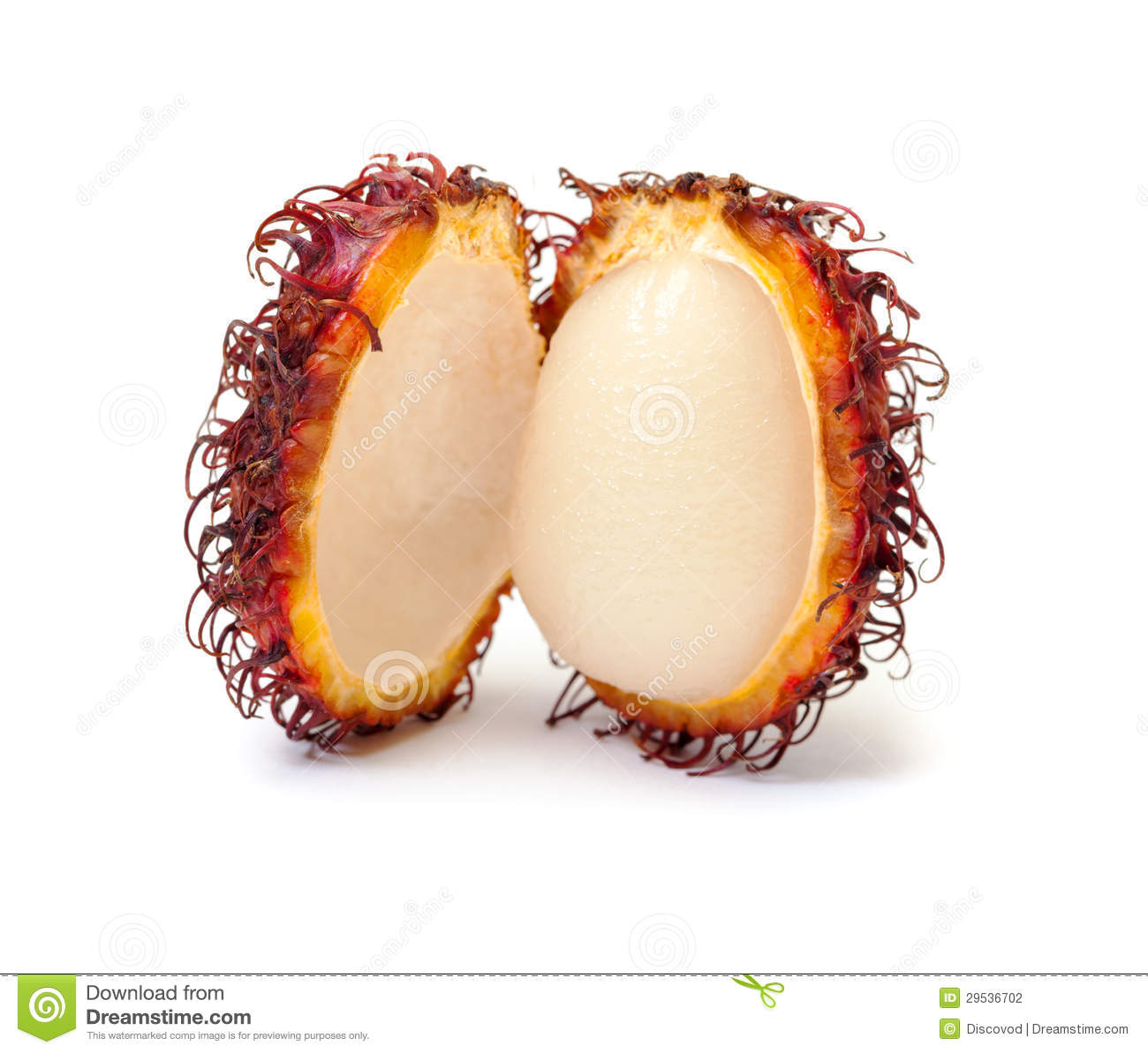 Rambutan, fruto tropical