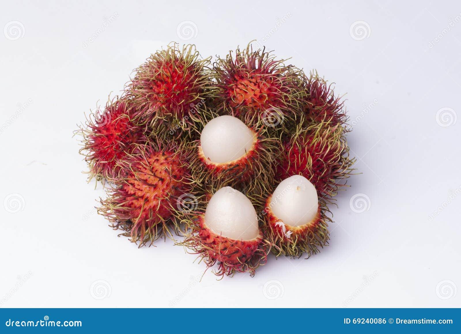 Rambutanfrucht
