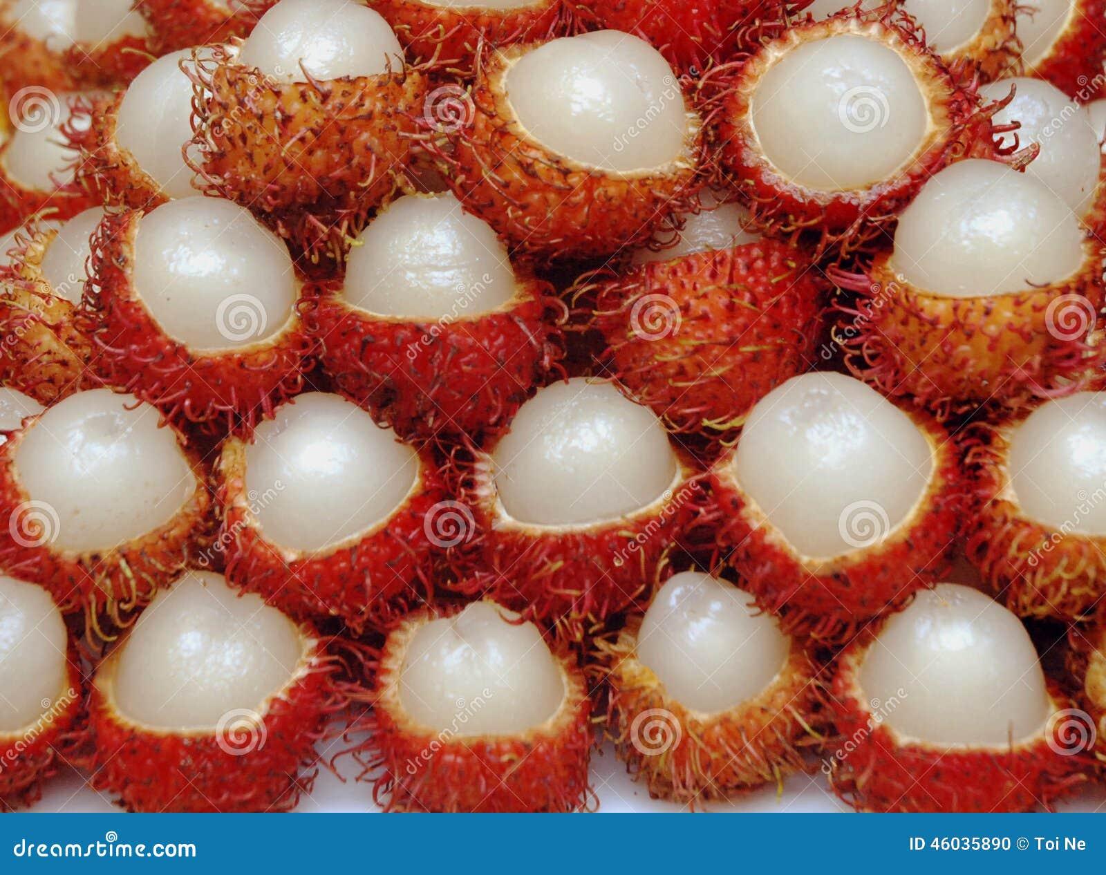 Rambutanfrucht, Vietnam-Frucht