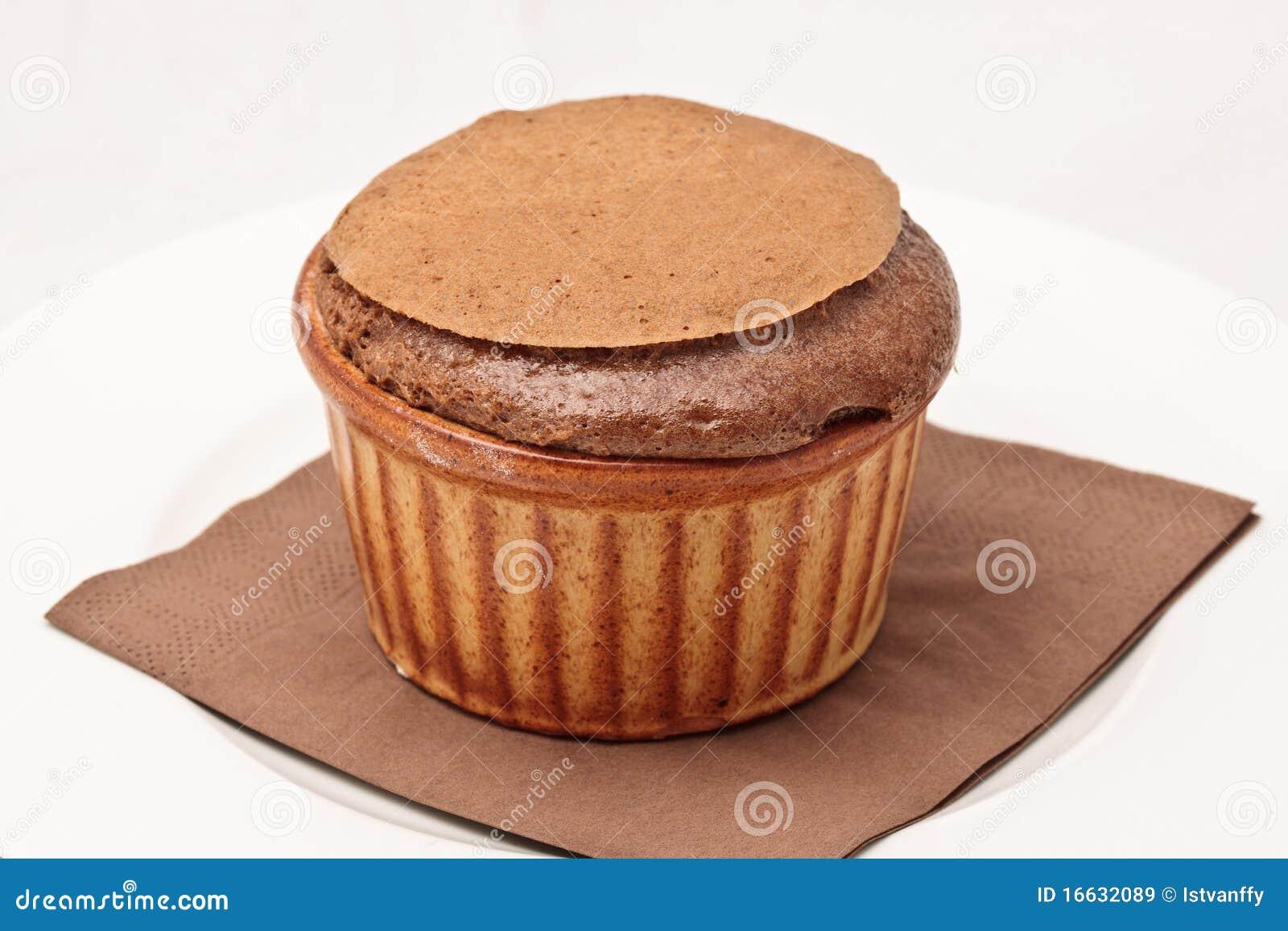 Ramekin czekoladowy souffle
