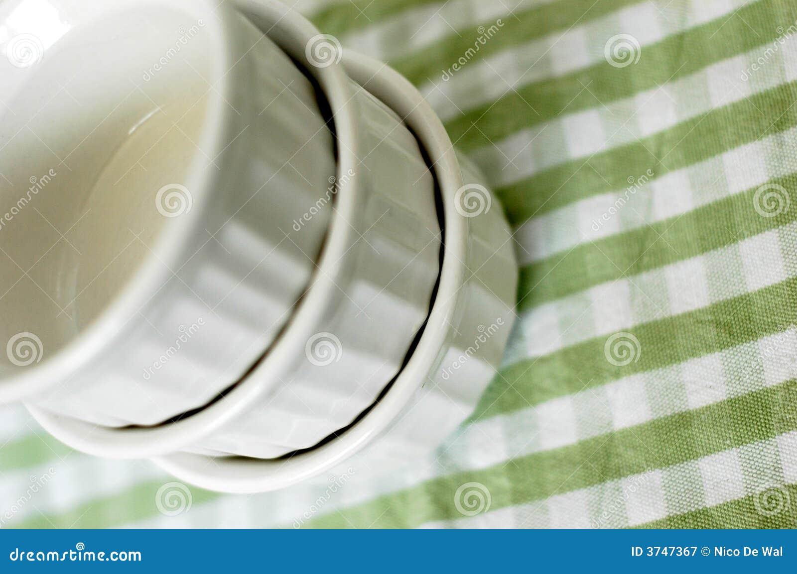 Ramekins del brulée di Crème
