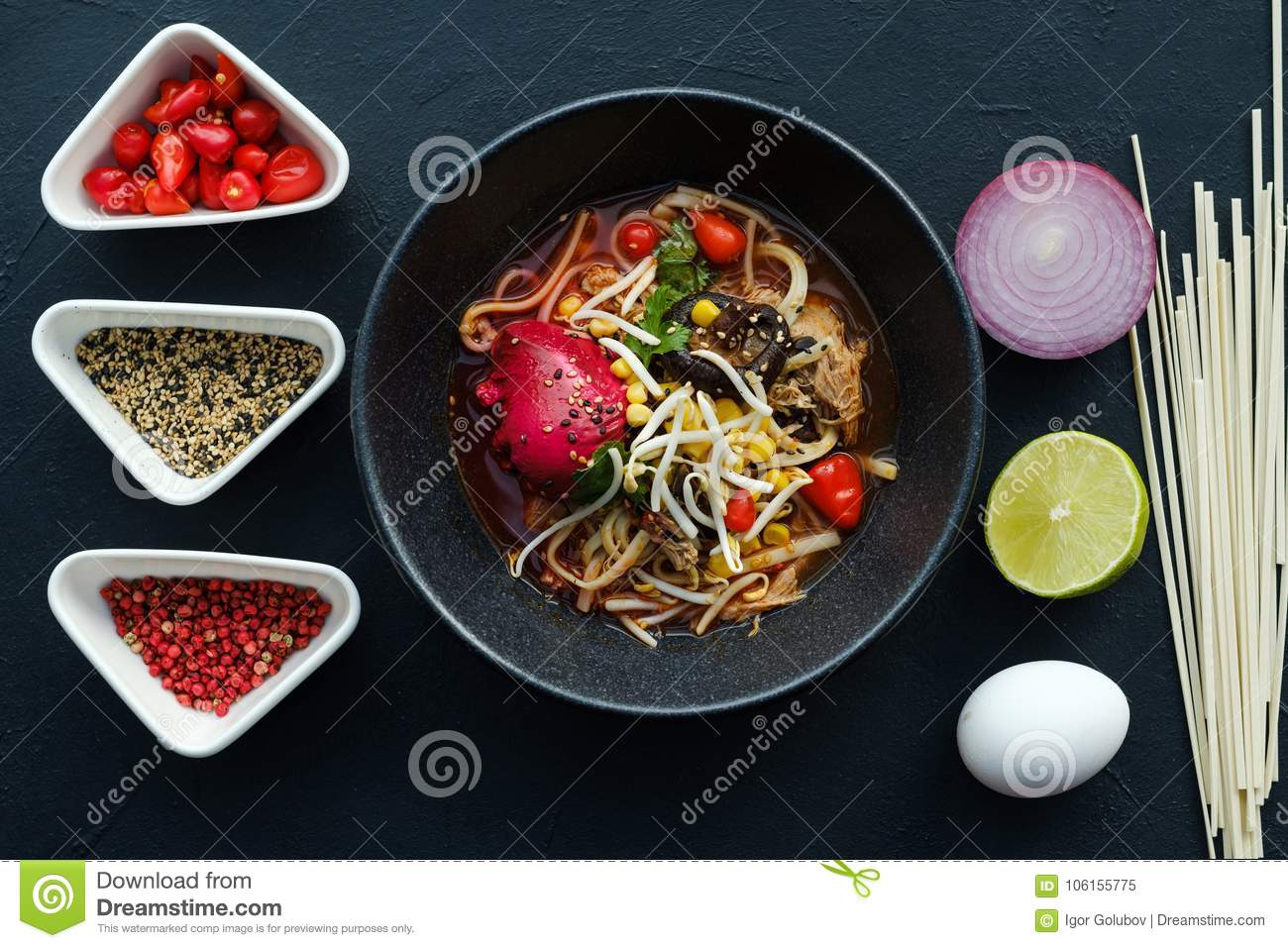 Ramen homemade recipe chinese fast food meal stock image image of download comp forumfinder Choice Image